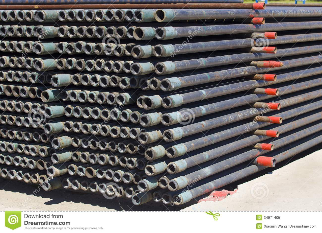 Steel pipe royalty free stock photo image