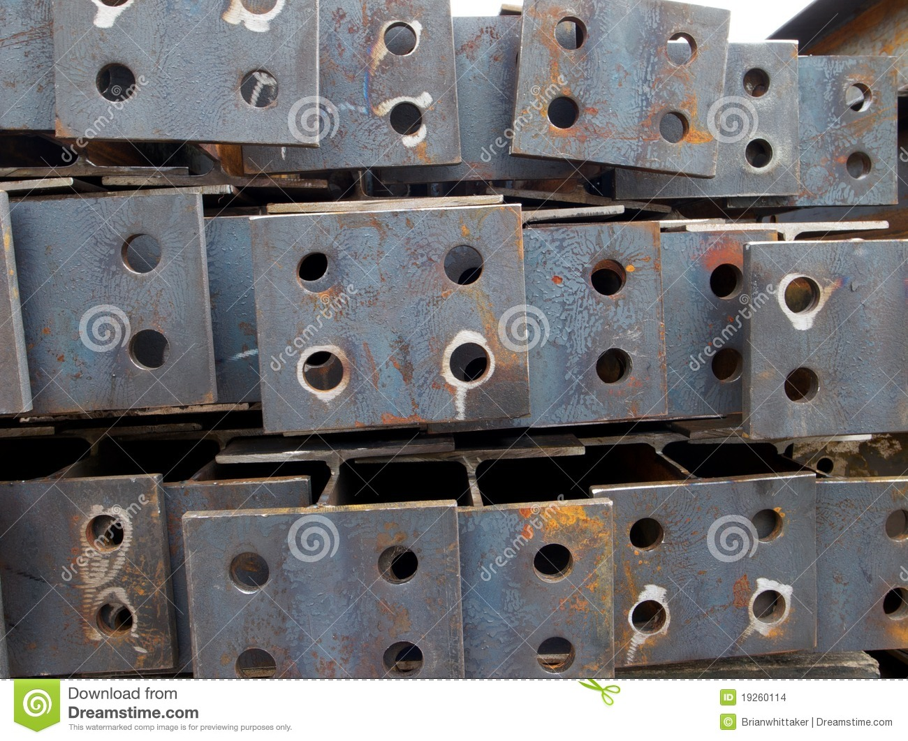 Steel plate with holes stock images image 19260114 for A shear pleasure pet salon
