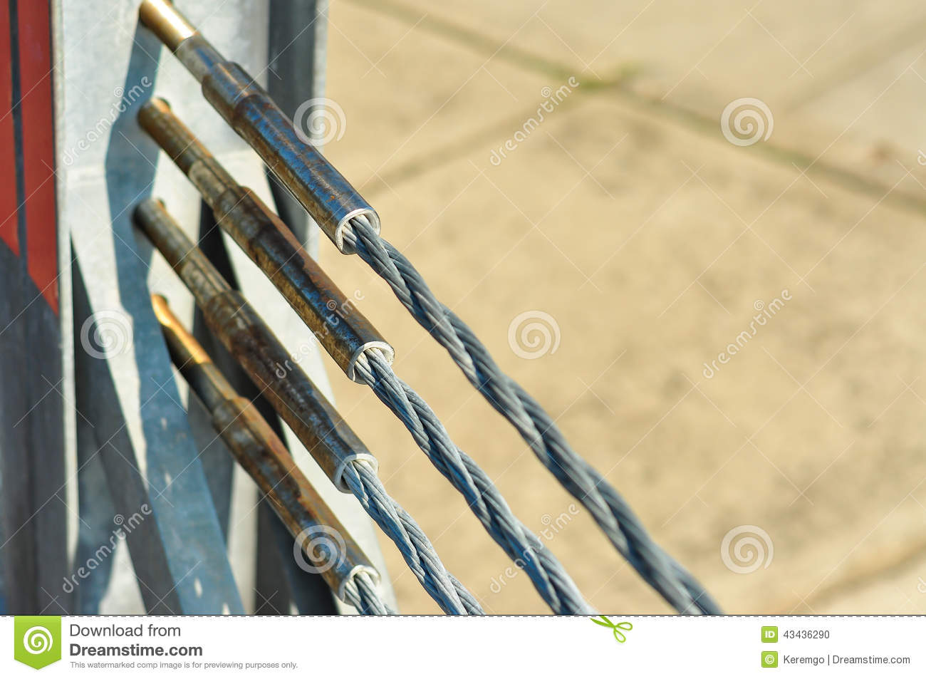 Steel Ropes With Output Flange Plate