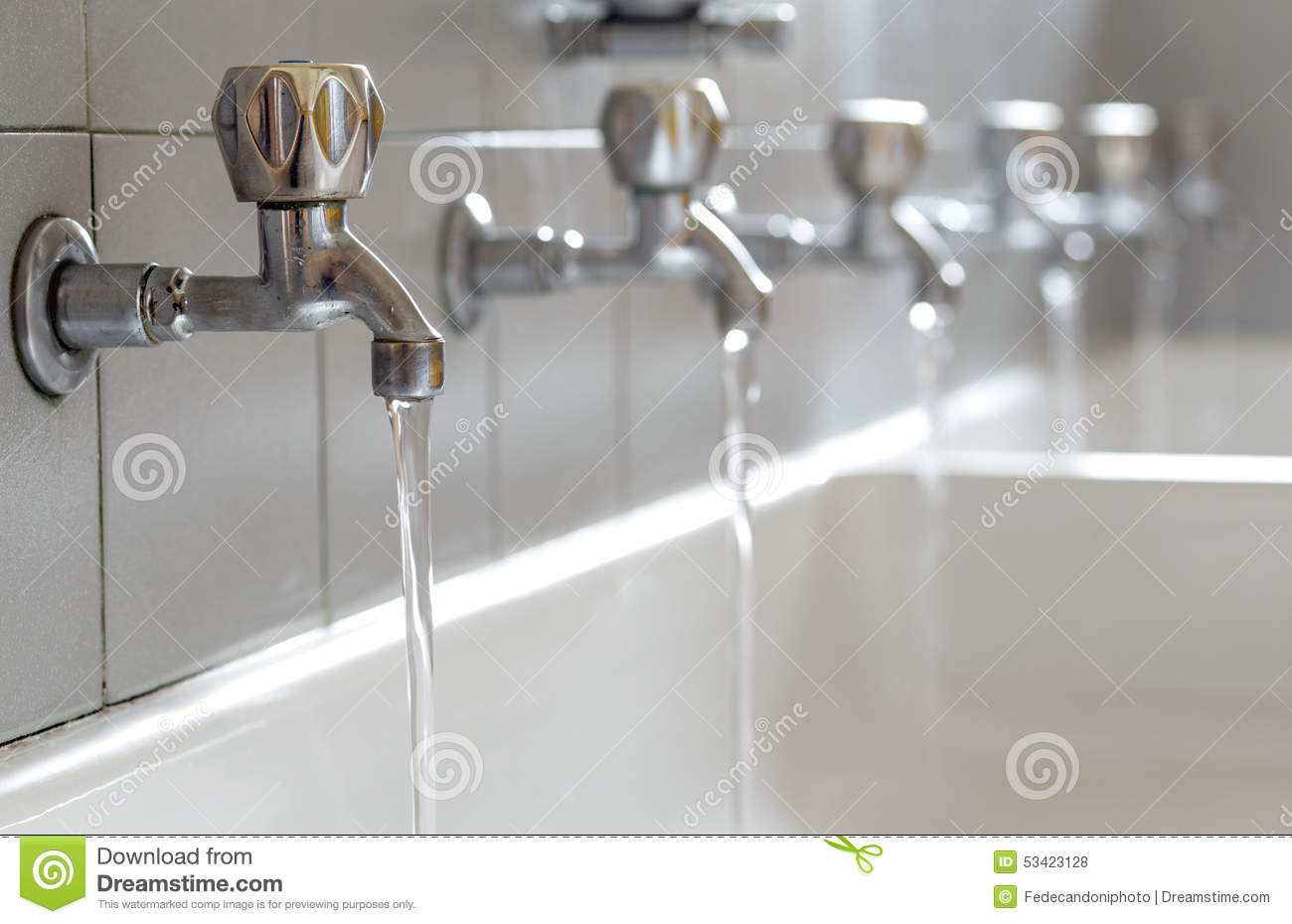 drinking water from bathroom tap your