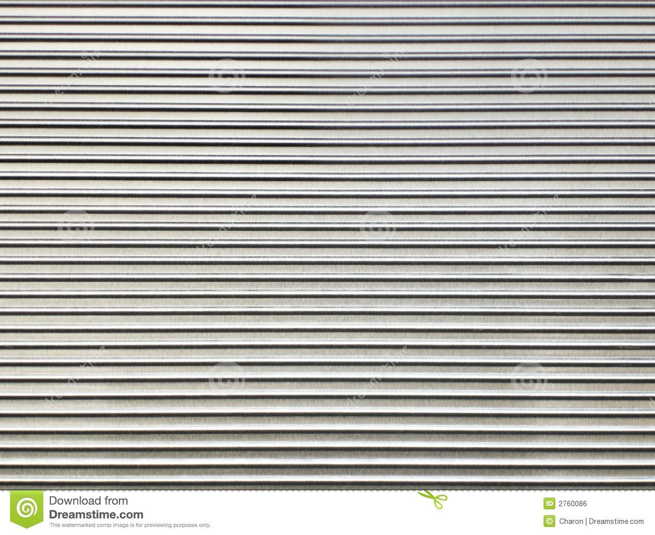 Steel Texture Corrugated Sheet Pattern Stock Photo Image