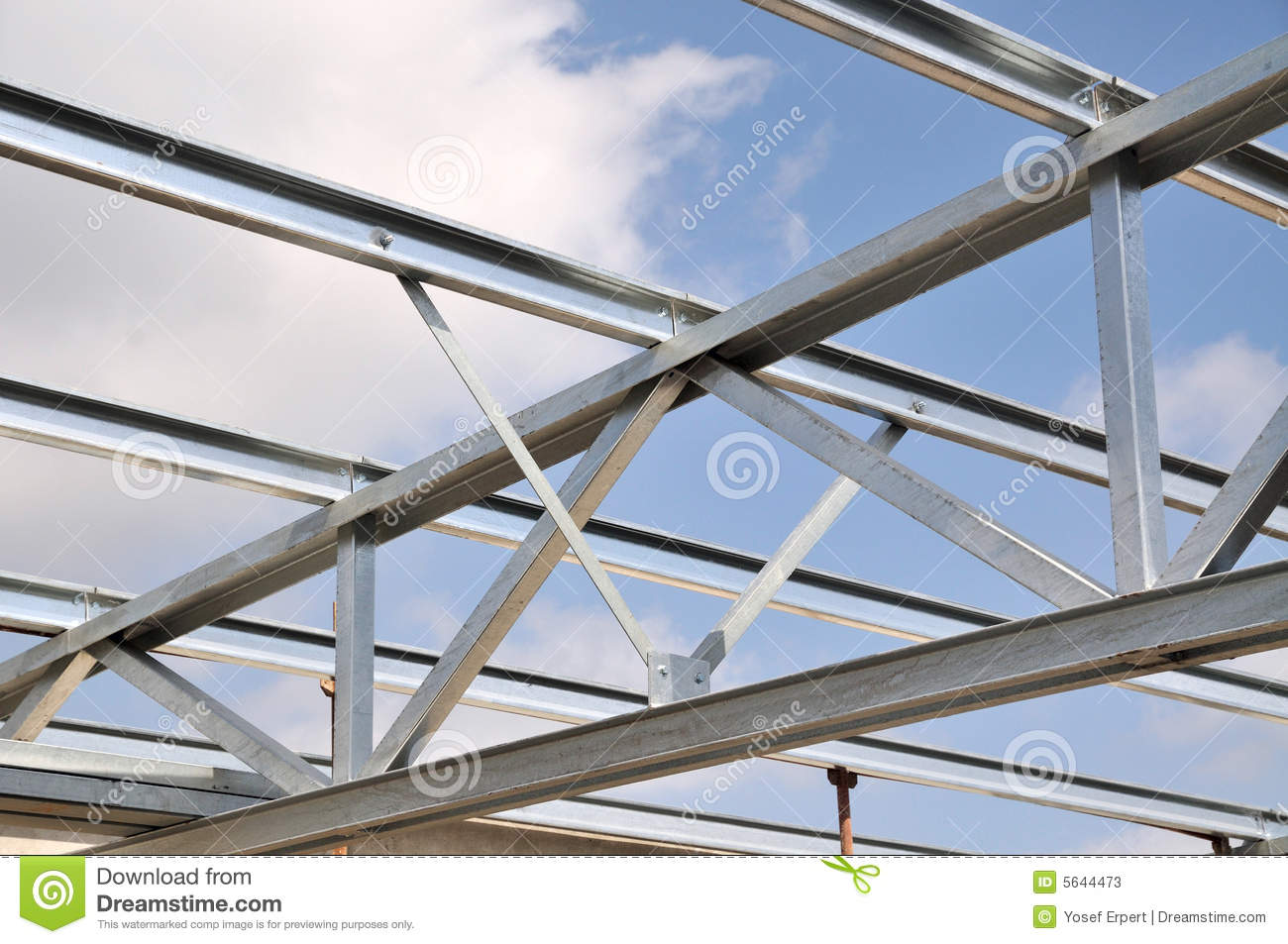 Steel Truss Stock Image Image Of Civil Part