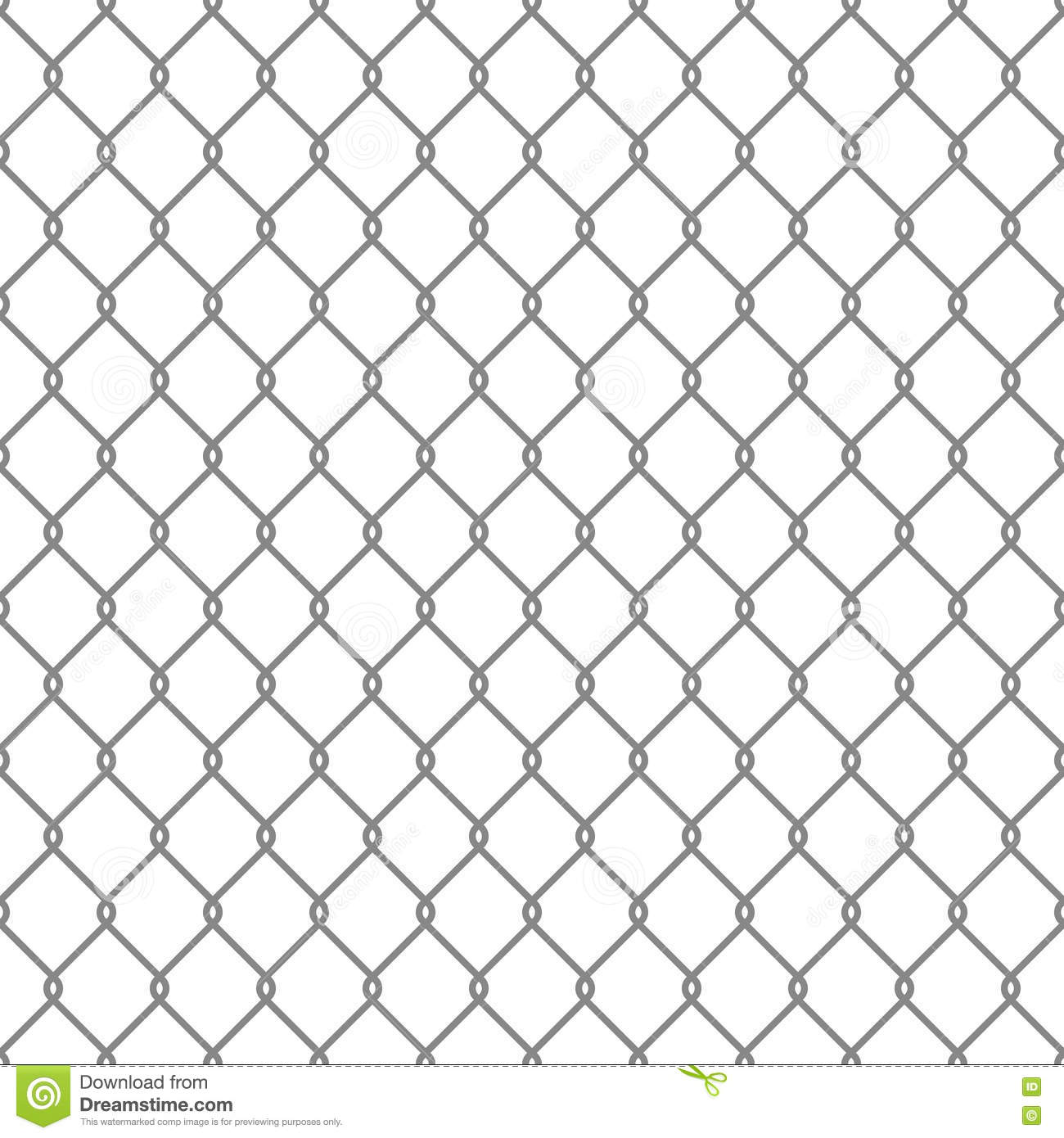 Steel Wire Mesh Seamless Background. Vector Illustration 42808645 ...