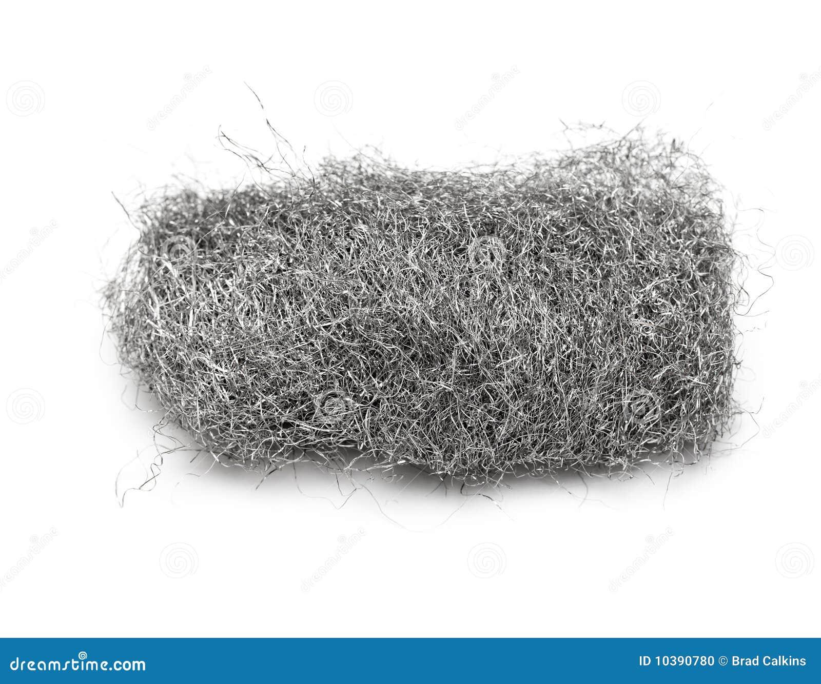 Steel Wool Pad Stock Photo Image 10390780