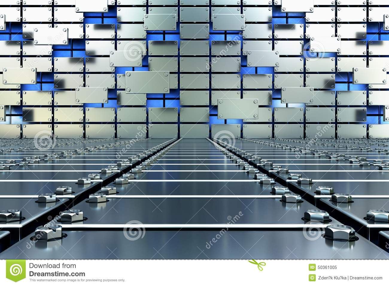 Steely future stock illustration image 50361005 for Cubi spaceo