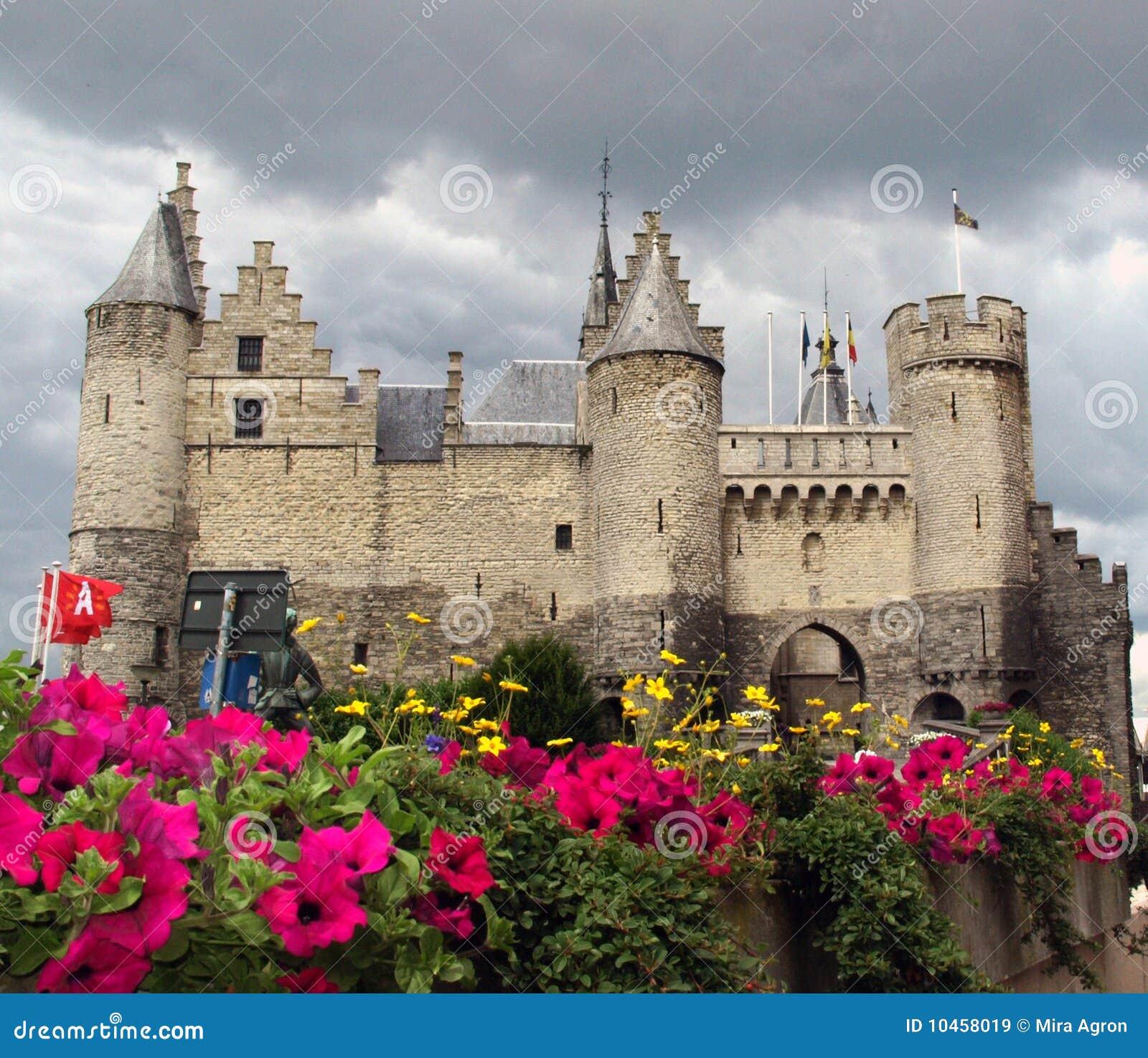 Steen Castle,Antwerp Belgium