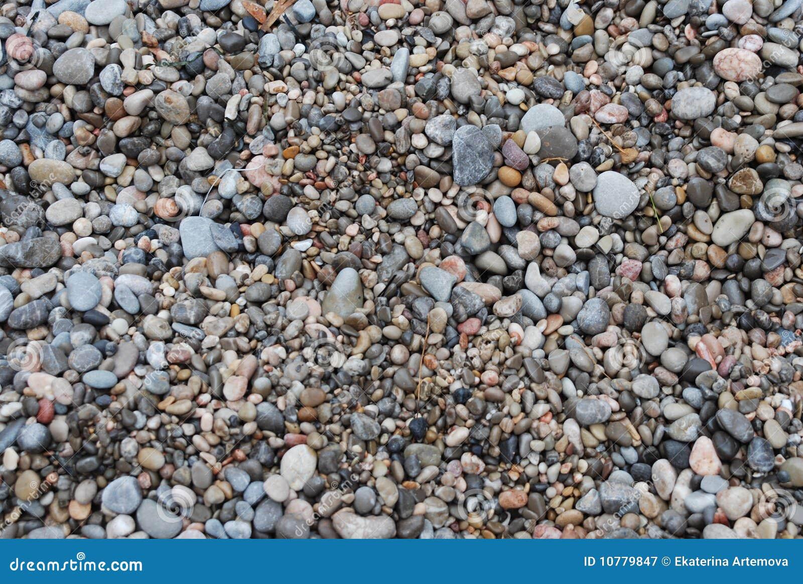 Steenachtig strand