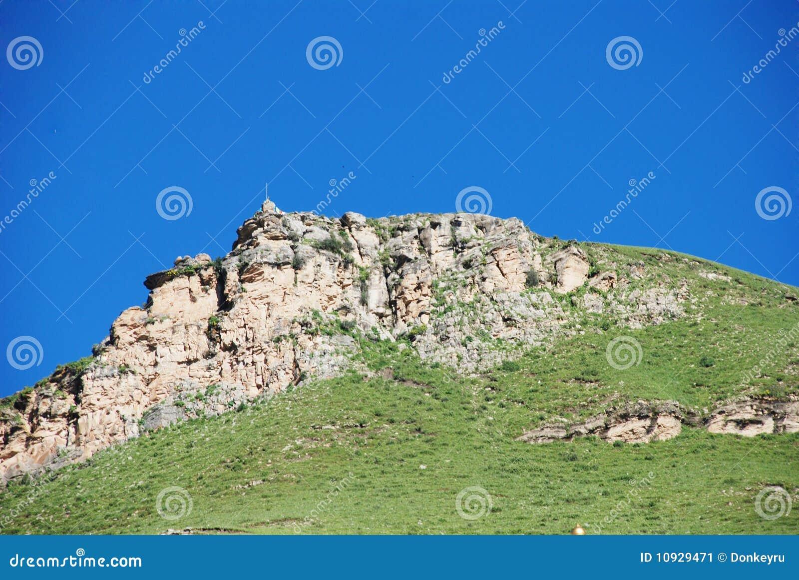 Steenachtige weilandberg