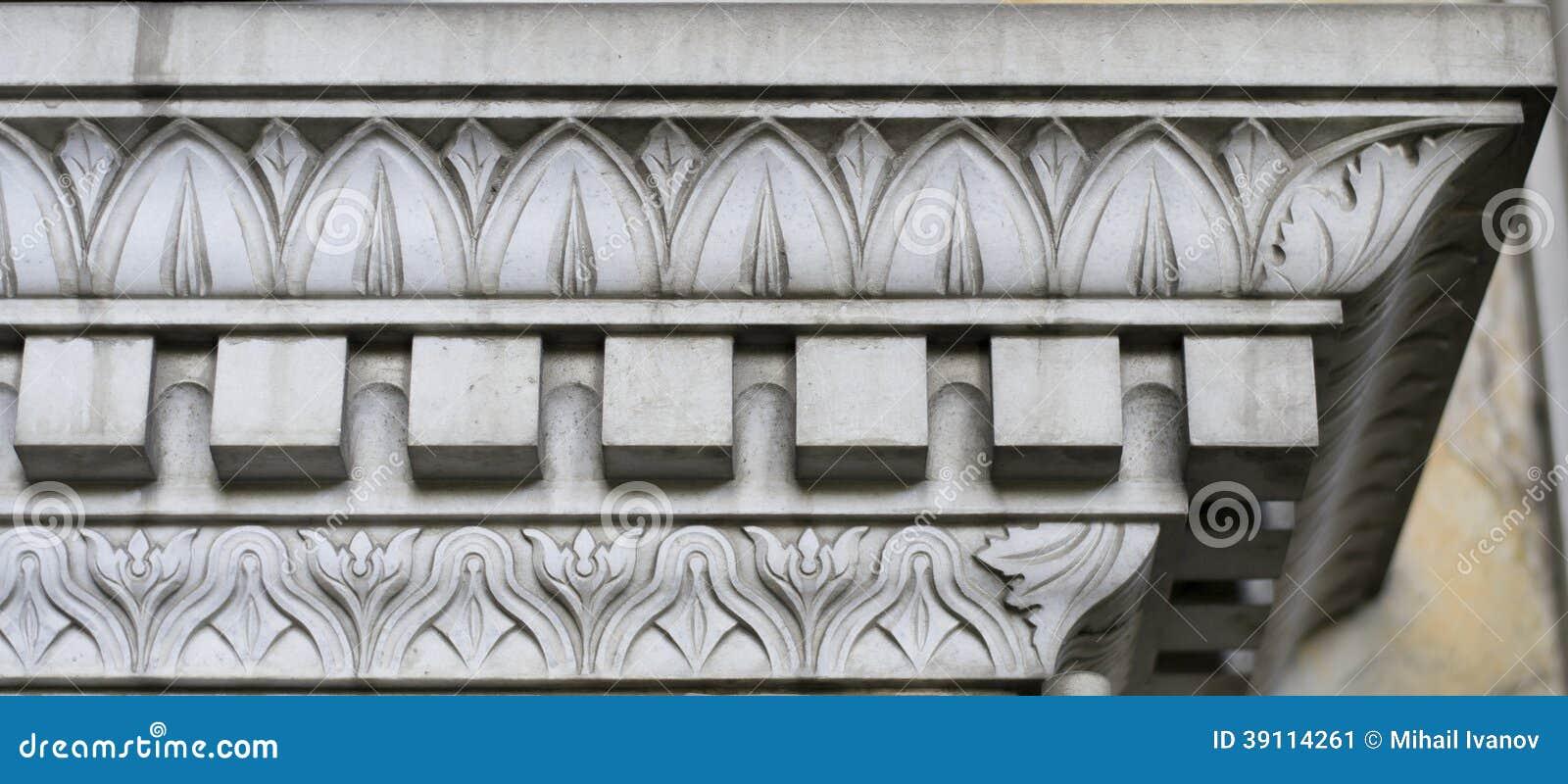 Steendecoratie (abstract aardpatroon)