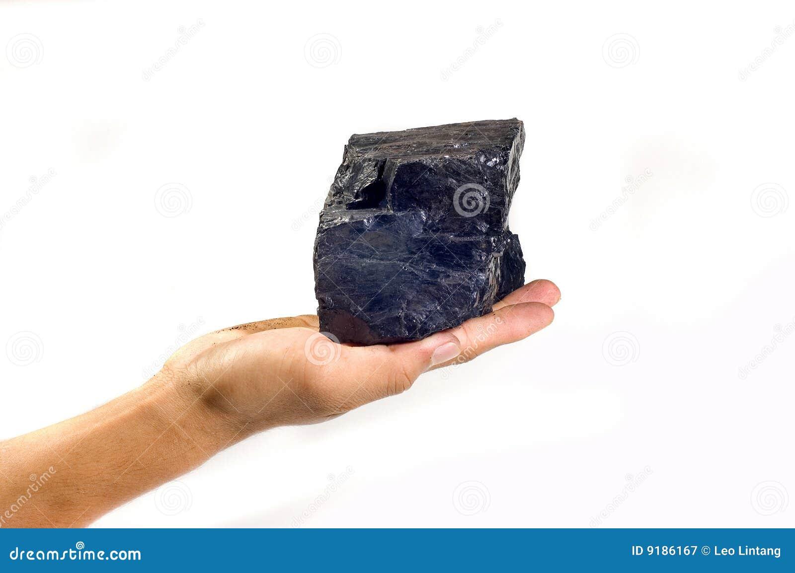 Steenkool op Hand