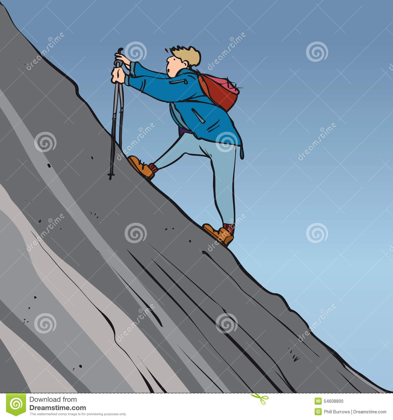 steep hike stock vector illustration of arduous  elevated hiker clipart png hiker clip art free