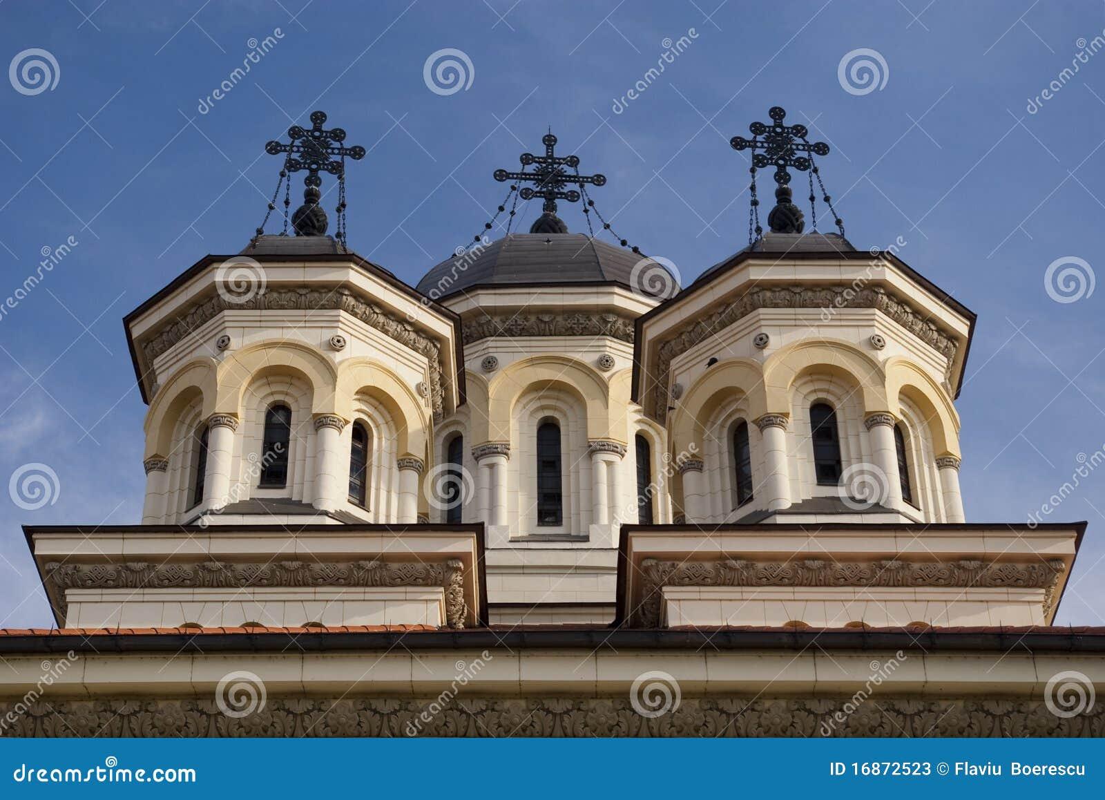 Steeple da igreja ortodoxa