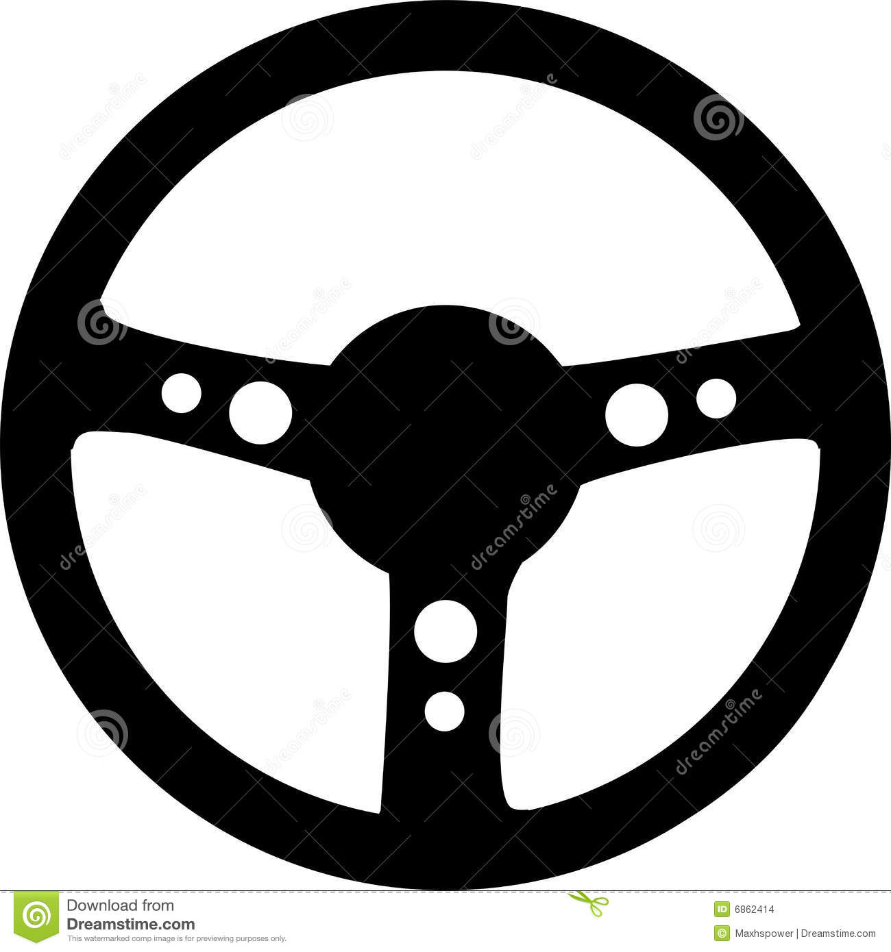 Steering Wheel Stock Images - Image: 6862414