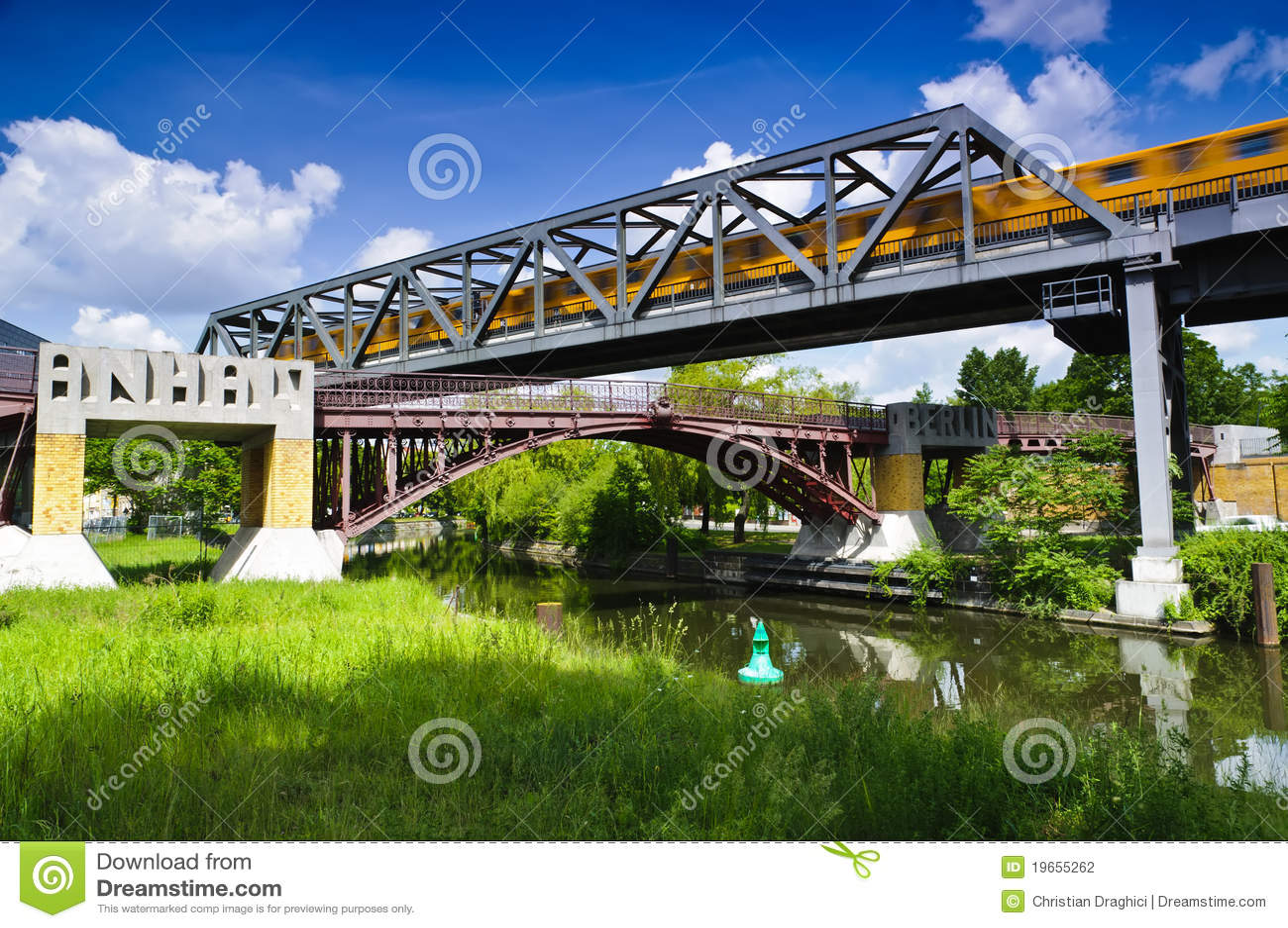 Steg footbridge berlin anhalter