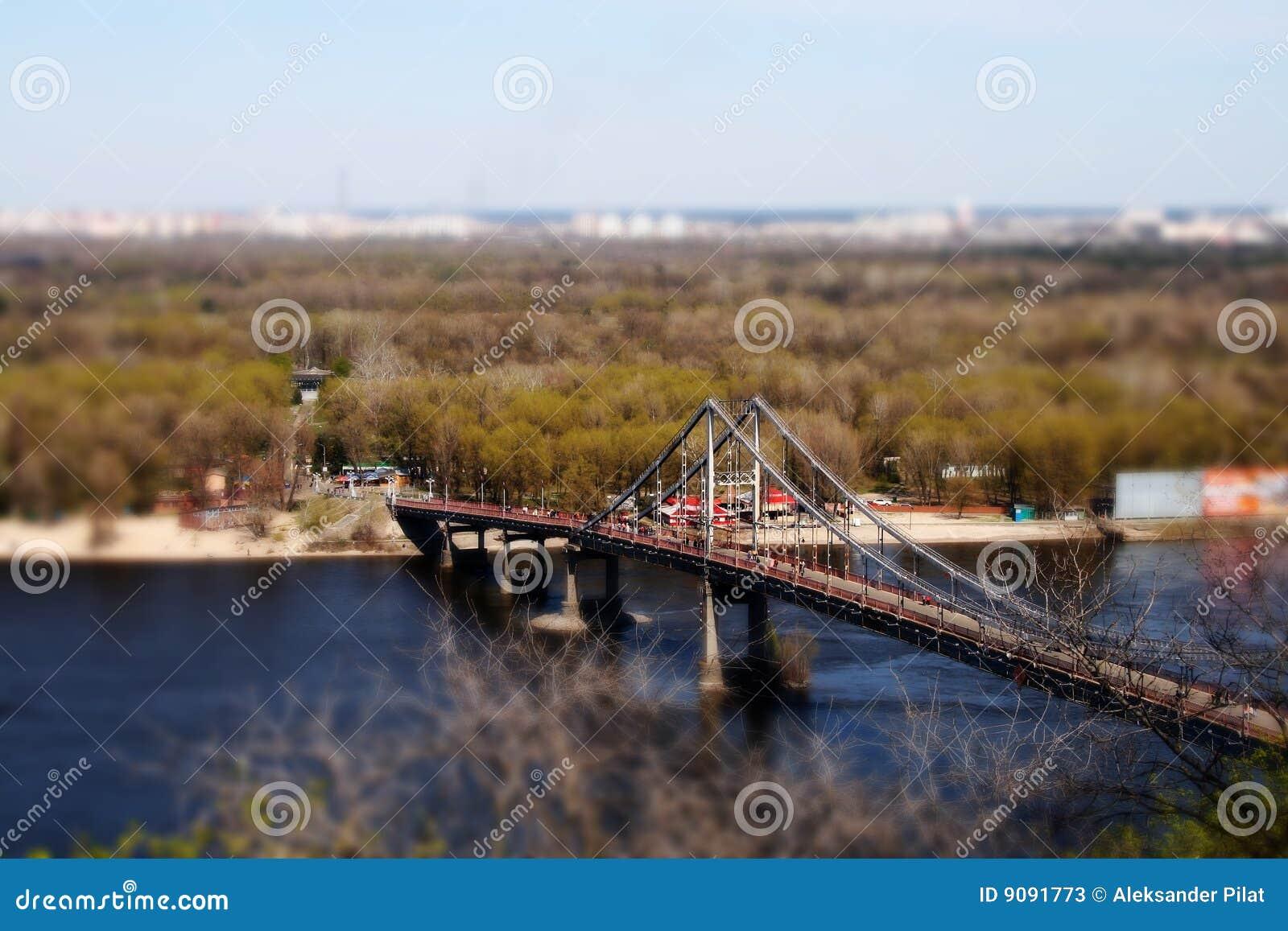 Steg in Kiew