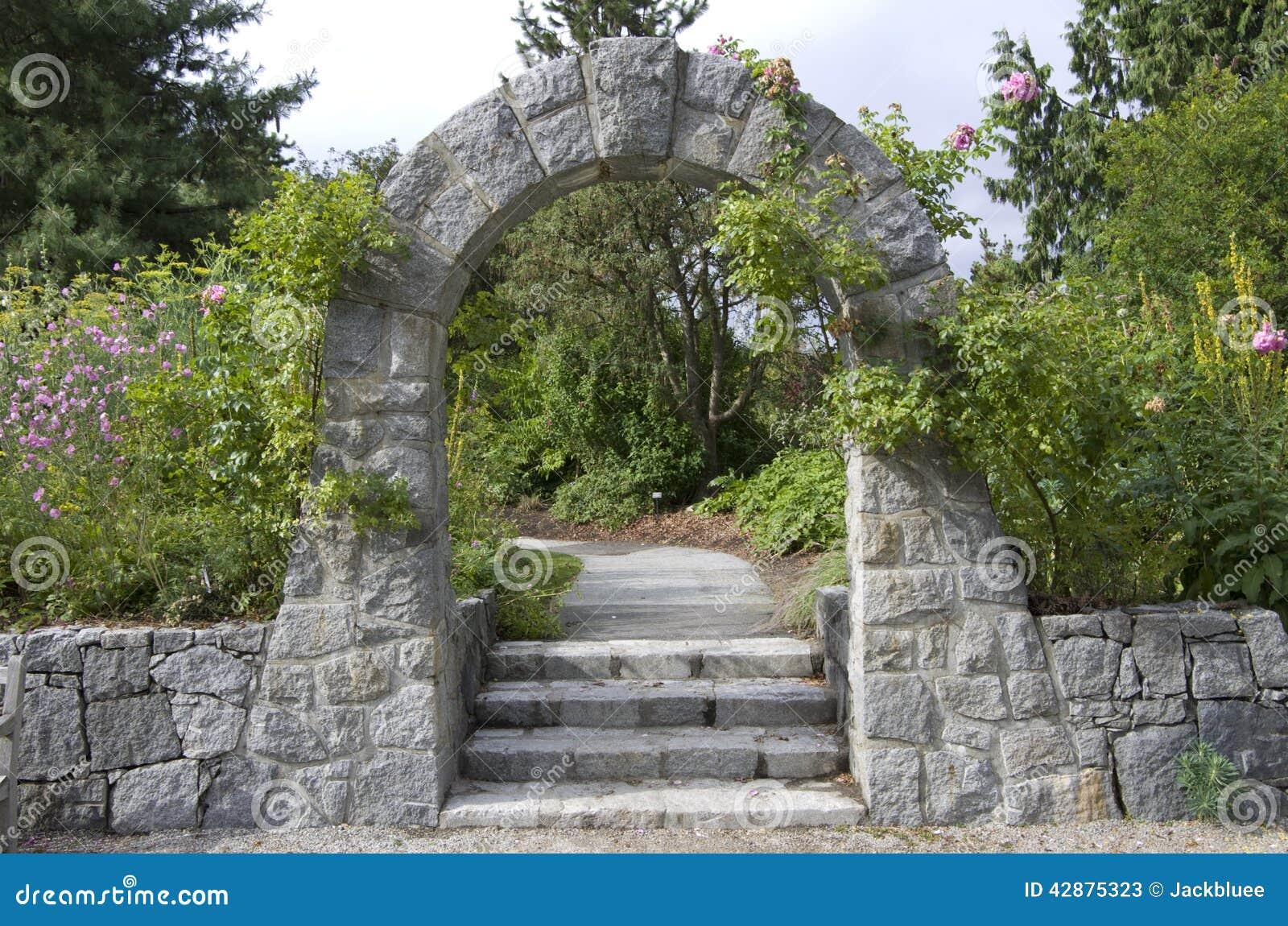 Steg trädgården