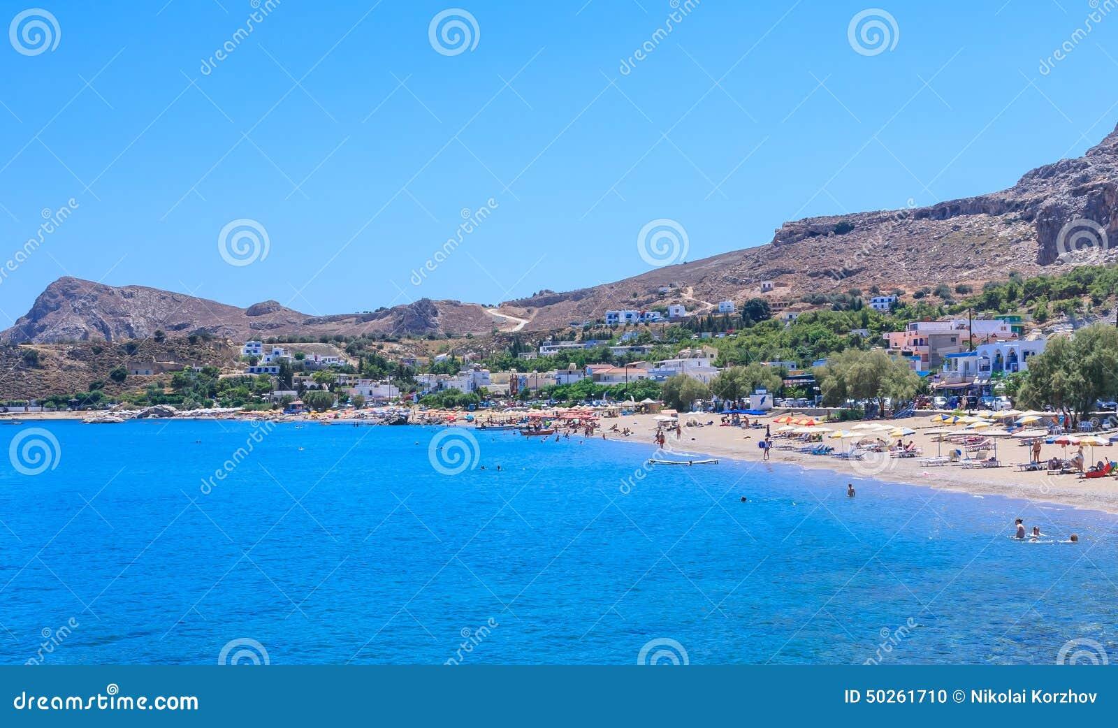 Stegna Beach Resort Rhodes Island Greece Editorial Image Image
