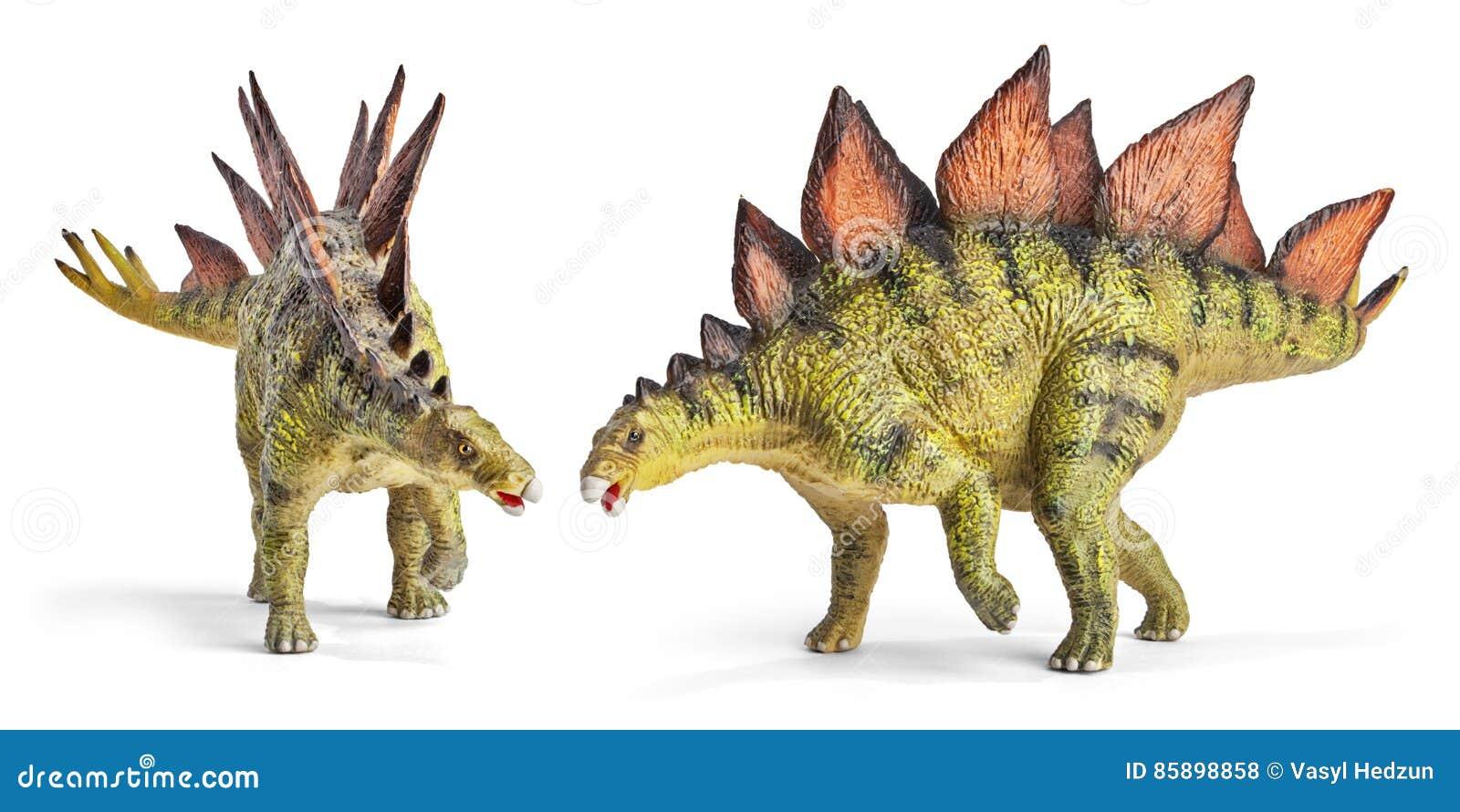 Stegosaurus, Klasse des gepanzerten Dinosauriers mit Beschneidungspfad