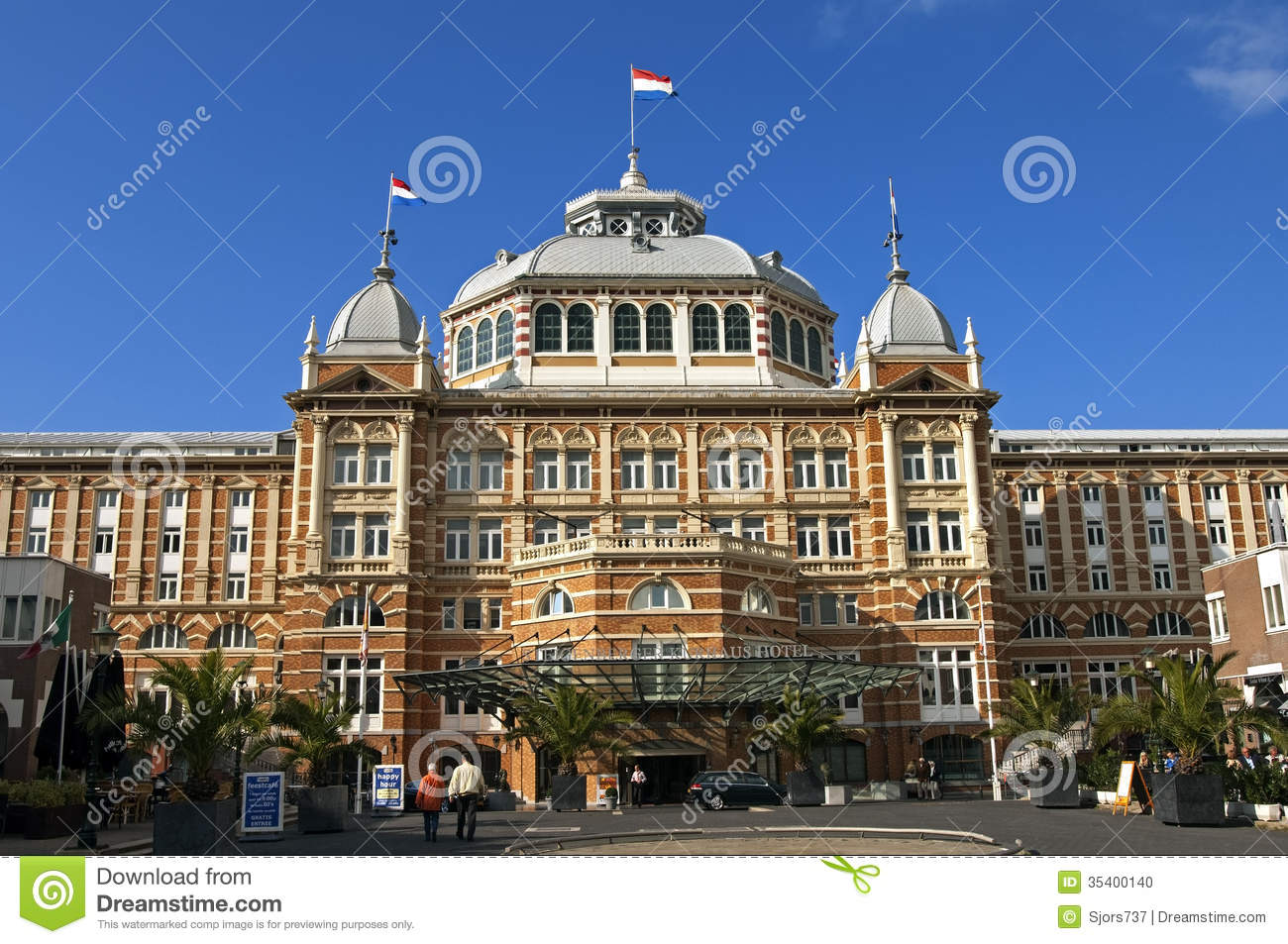 Famous German Architects Steigenberger Kurhaus Hotel In The Hague For Sale