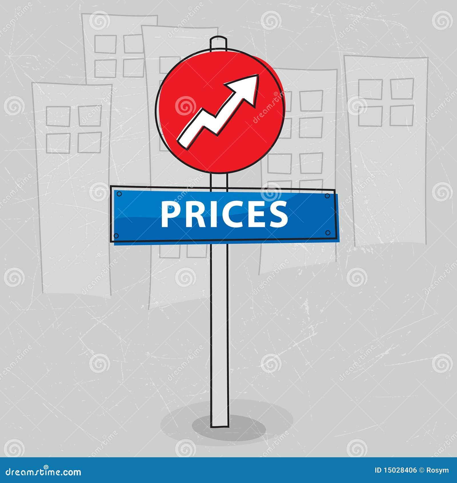 steigende preise lizenzfreies stockbild bild 15028406. Black Bedroom Furniture Sets. Home Design Ideas