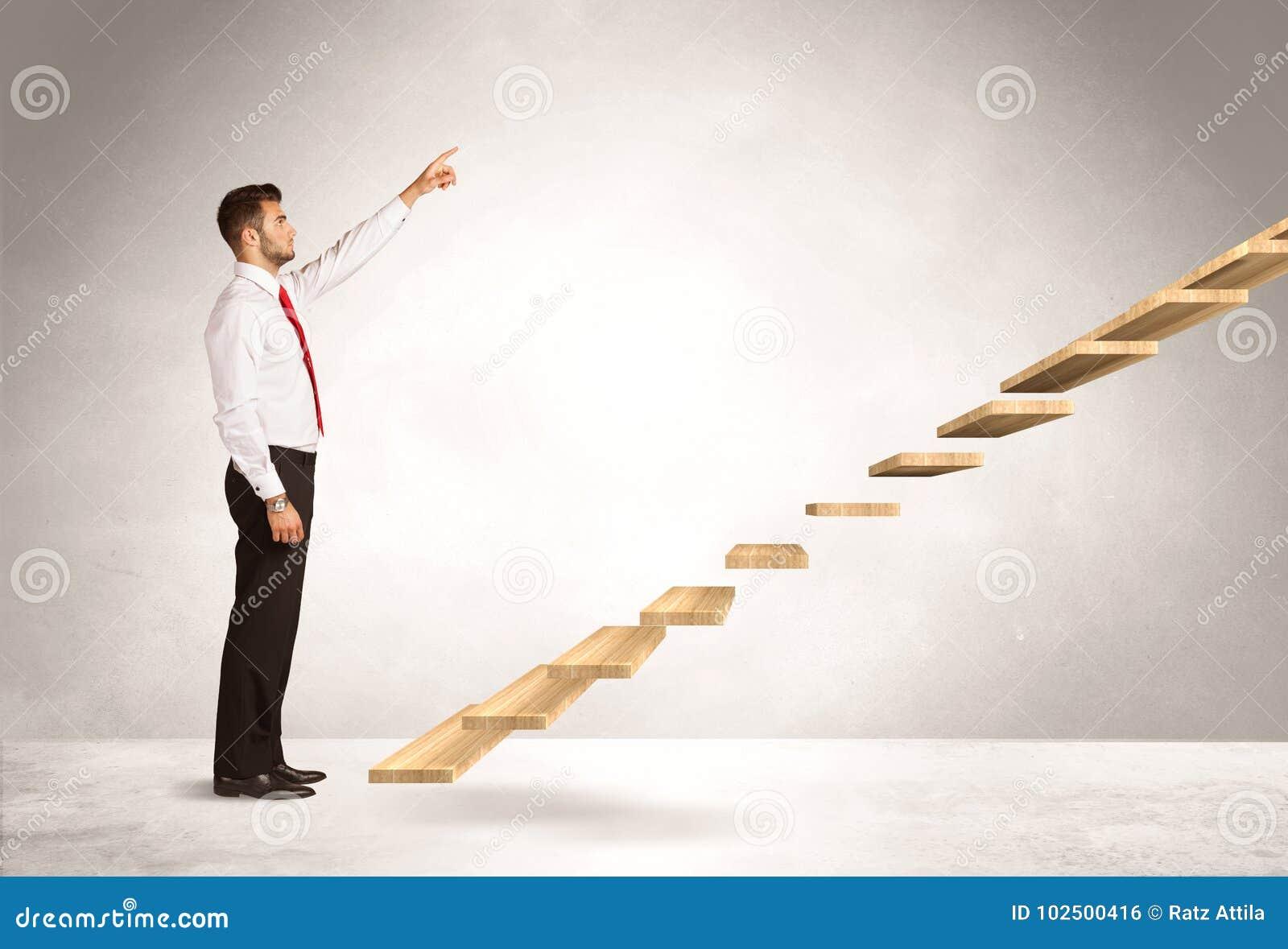 Steigerung eines Treppenhauses