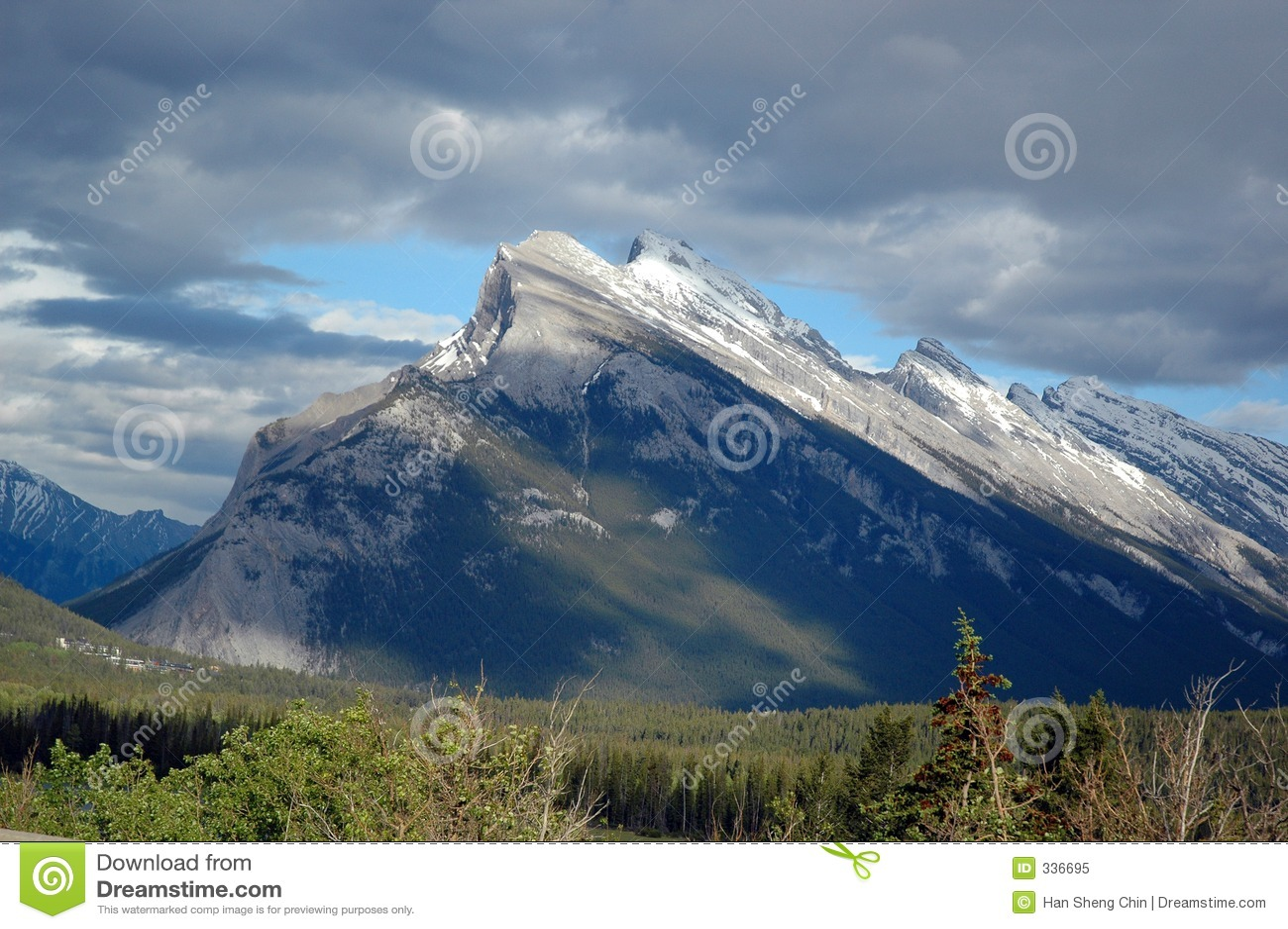 Steile Berg