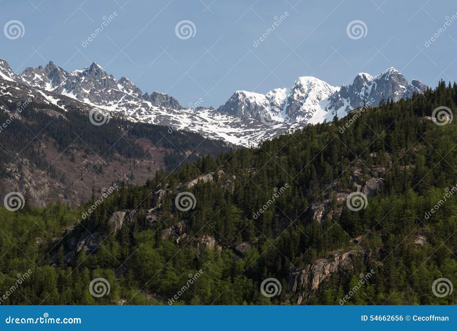 Steile bergen