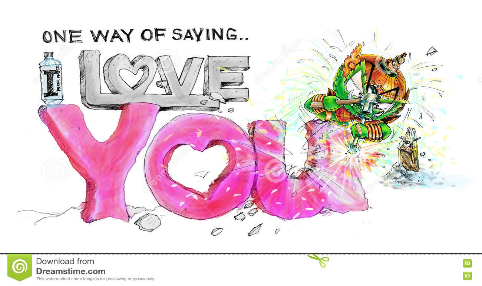 liebe dich auf thailändisch