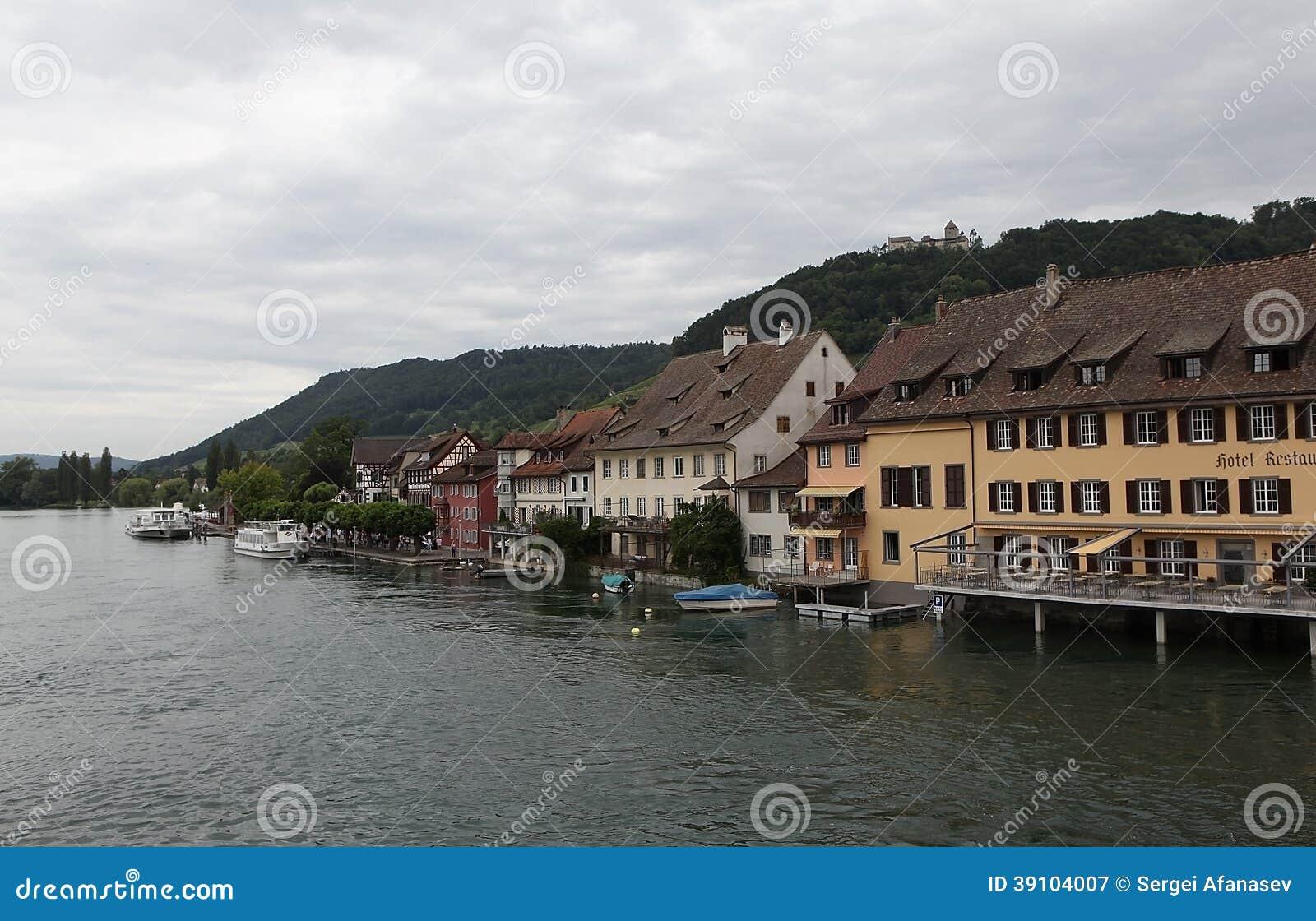 Stein am Rhein op de Rijn-Rivier.