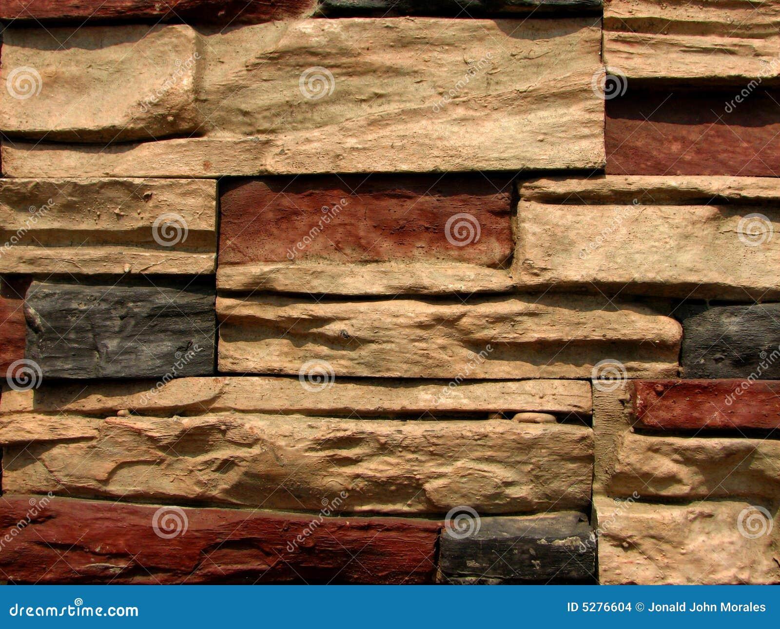SteinBacksteinmauer-Muster 5