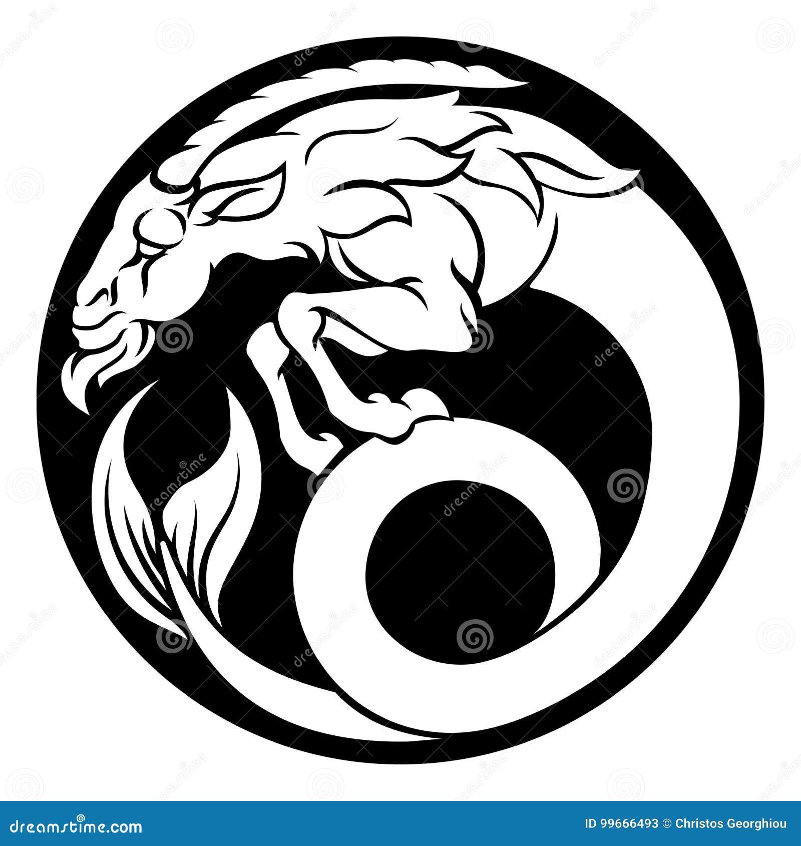 Steinbock aus Horoskop