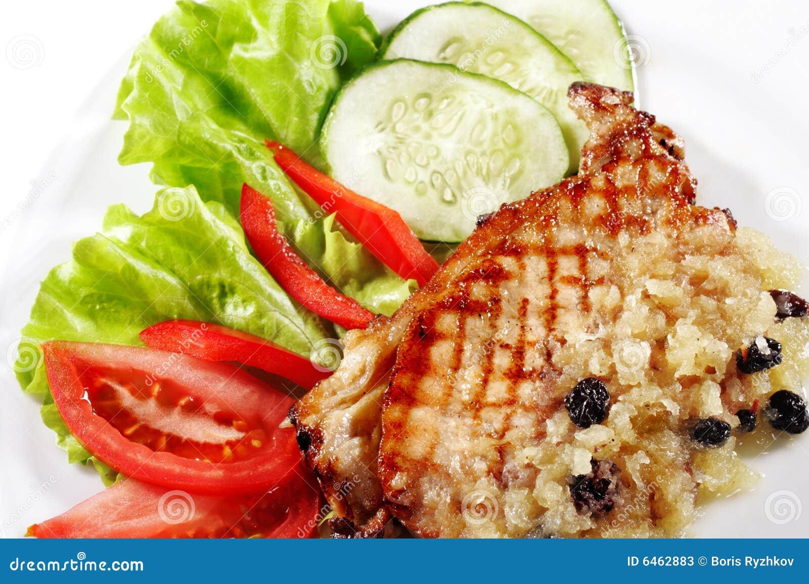 Stek wieprzowina
