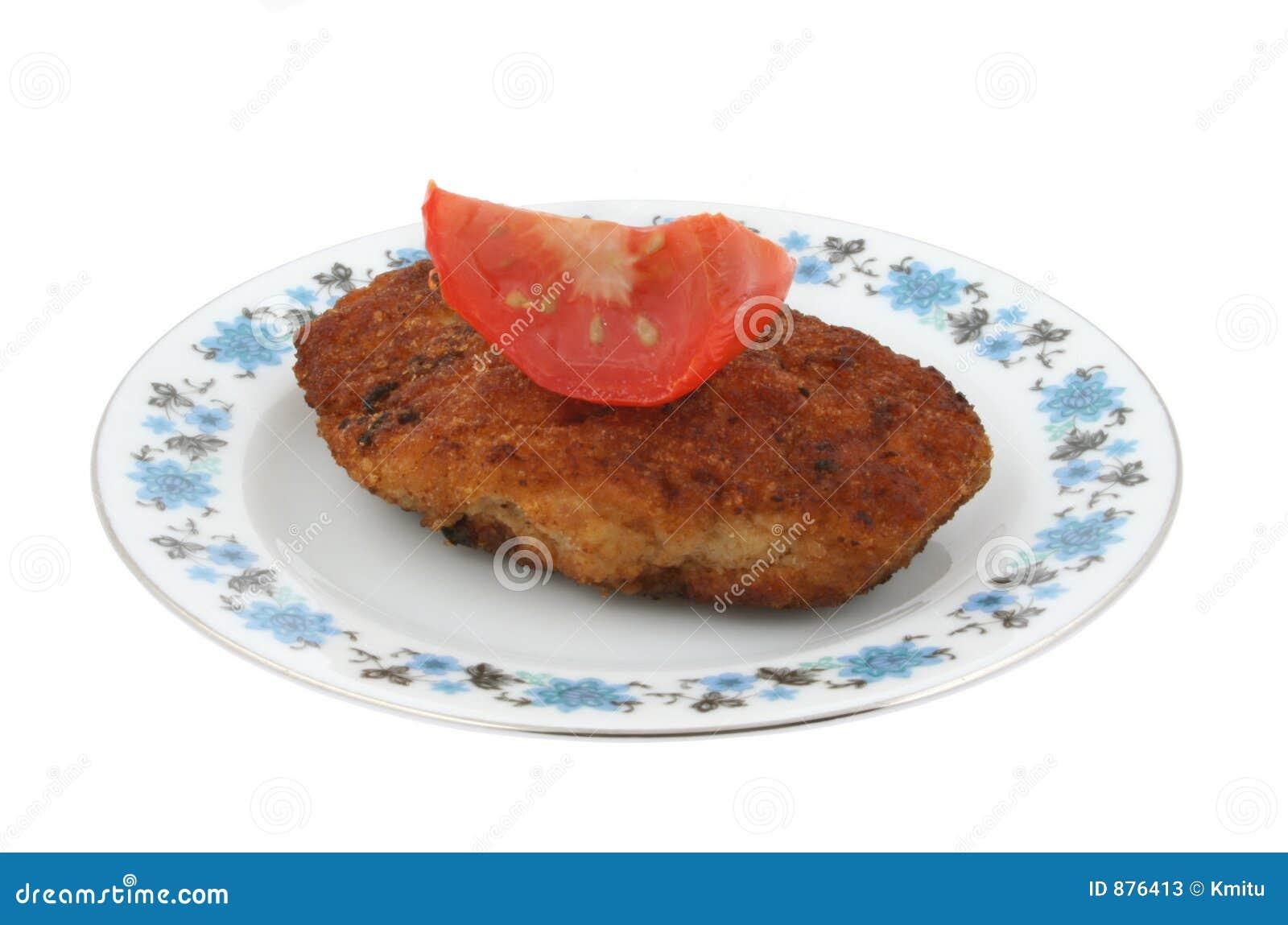 Stek z dyskretnym wzorkiem pomidor walcowane