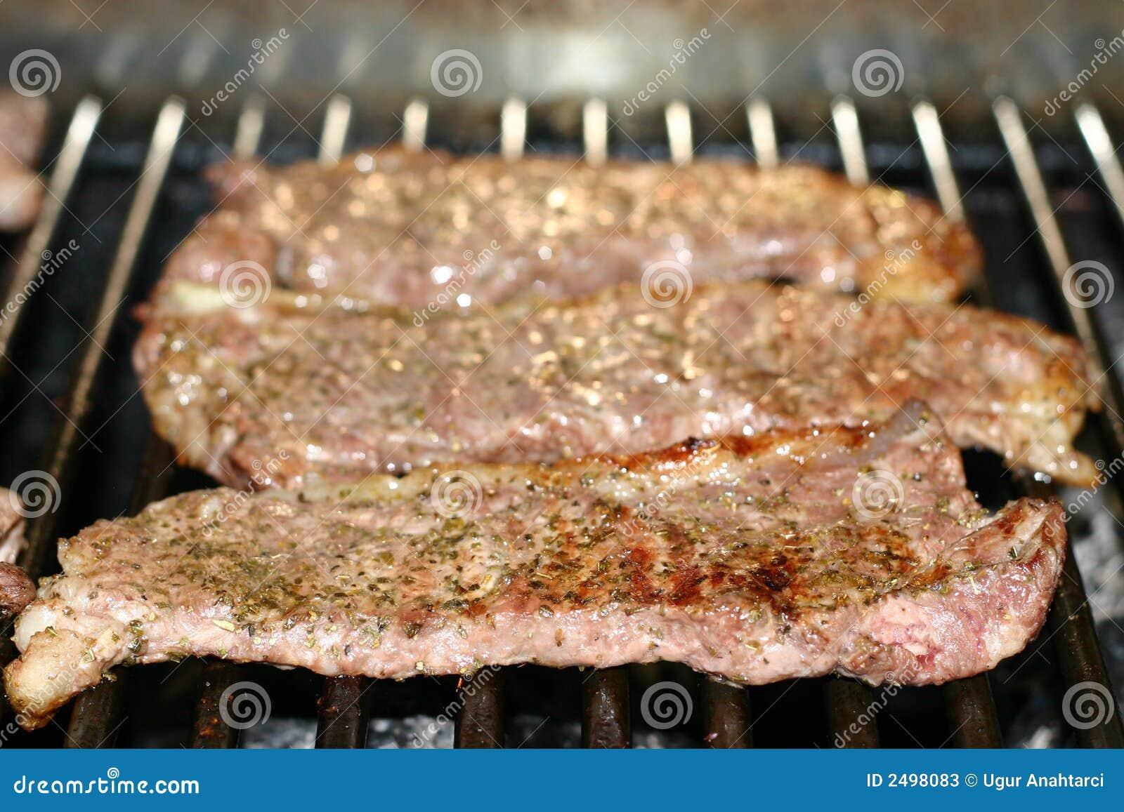 Steki grillów