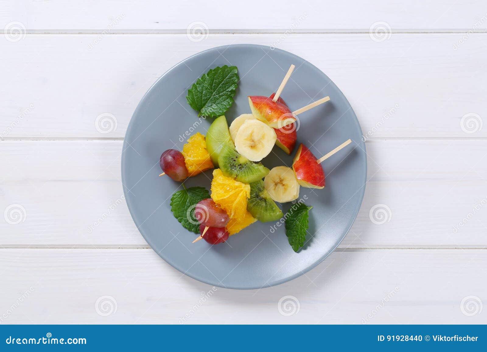 Steknålar för ny frukt