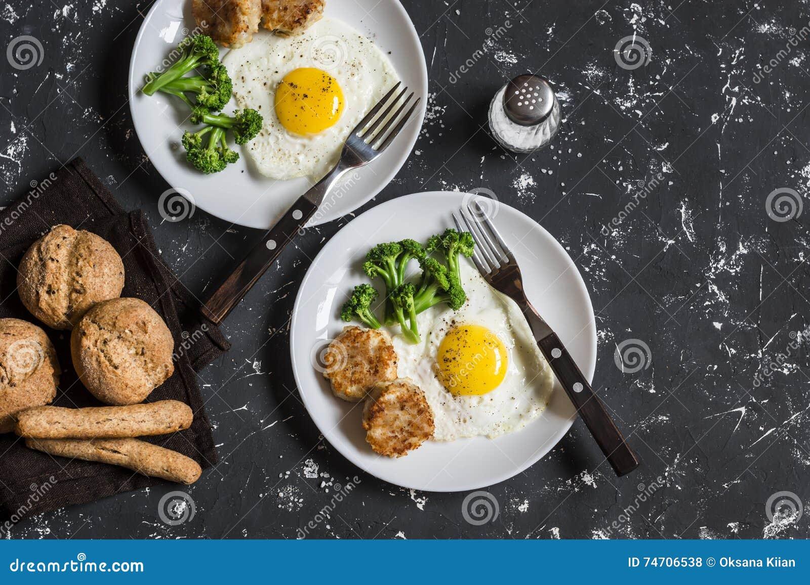 köttbullar med ägg