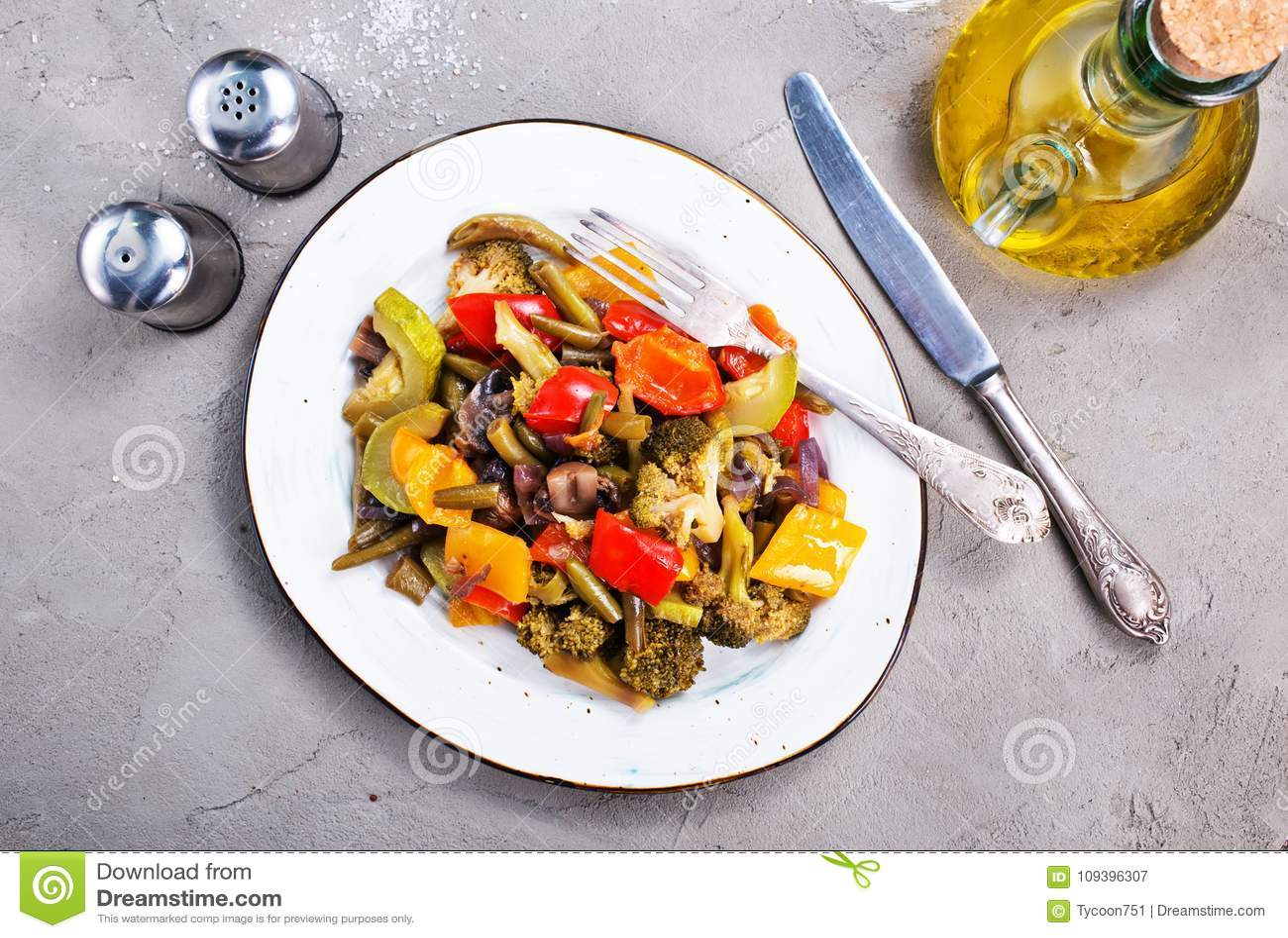 Stekte grönsaker