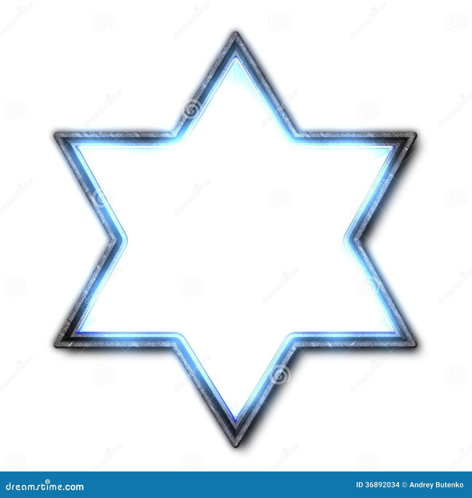 Download Stella di Davide illustrazione di stock. Illustrazione di judaism - 36892034