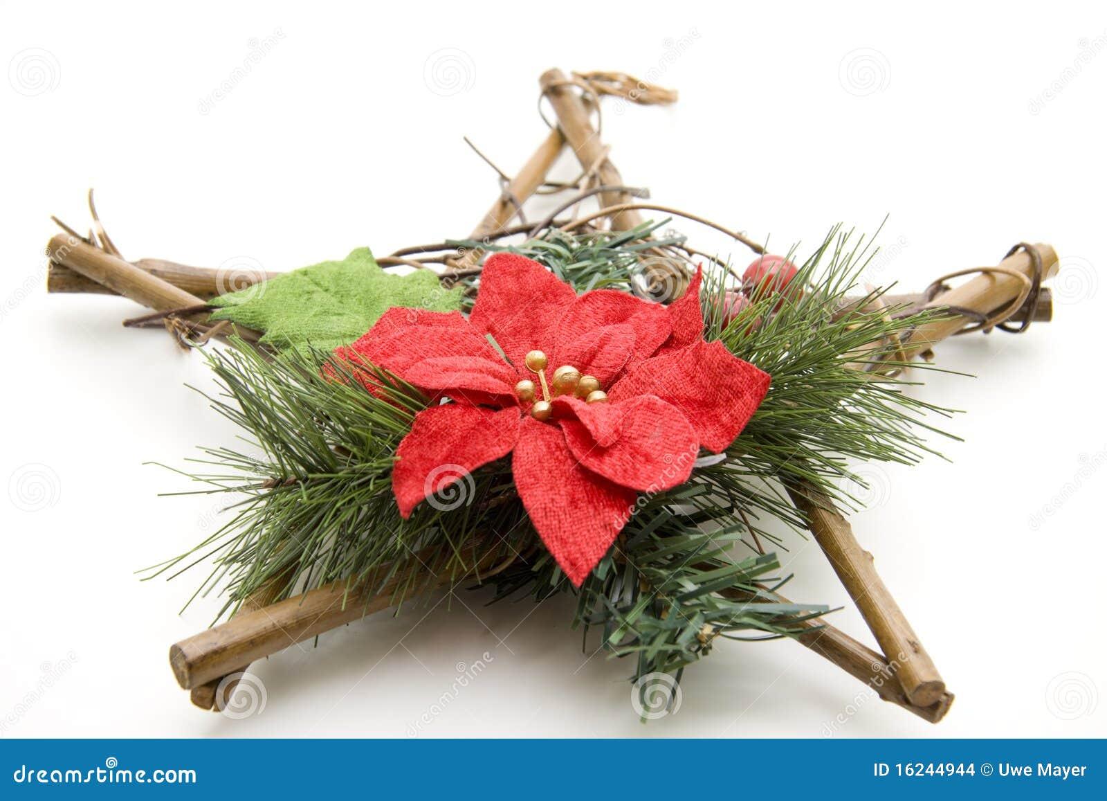 Stella Di Natale Legno.Stella Di Natale Di Legno Fotografia Stock Immagine Di Avvenimento