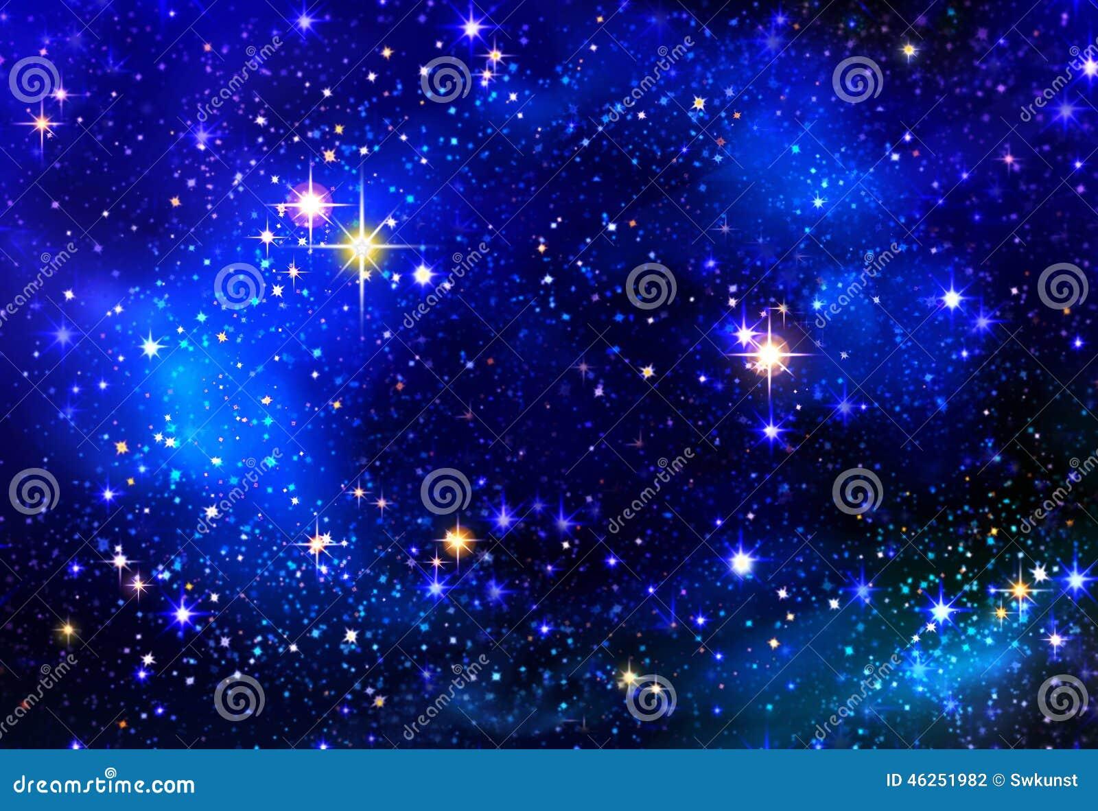 Stella Di Natale Nel Cielo Notturno Illustrazione Di Stock