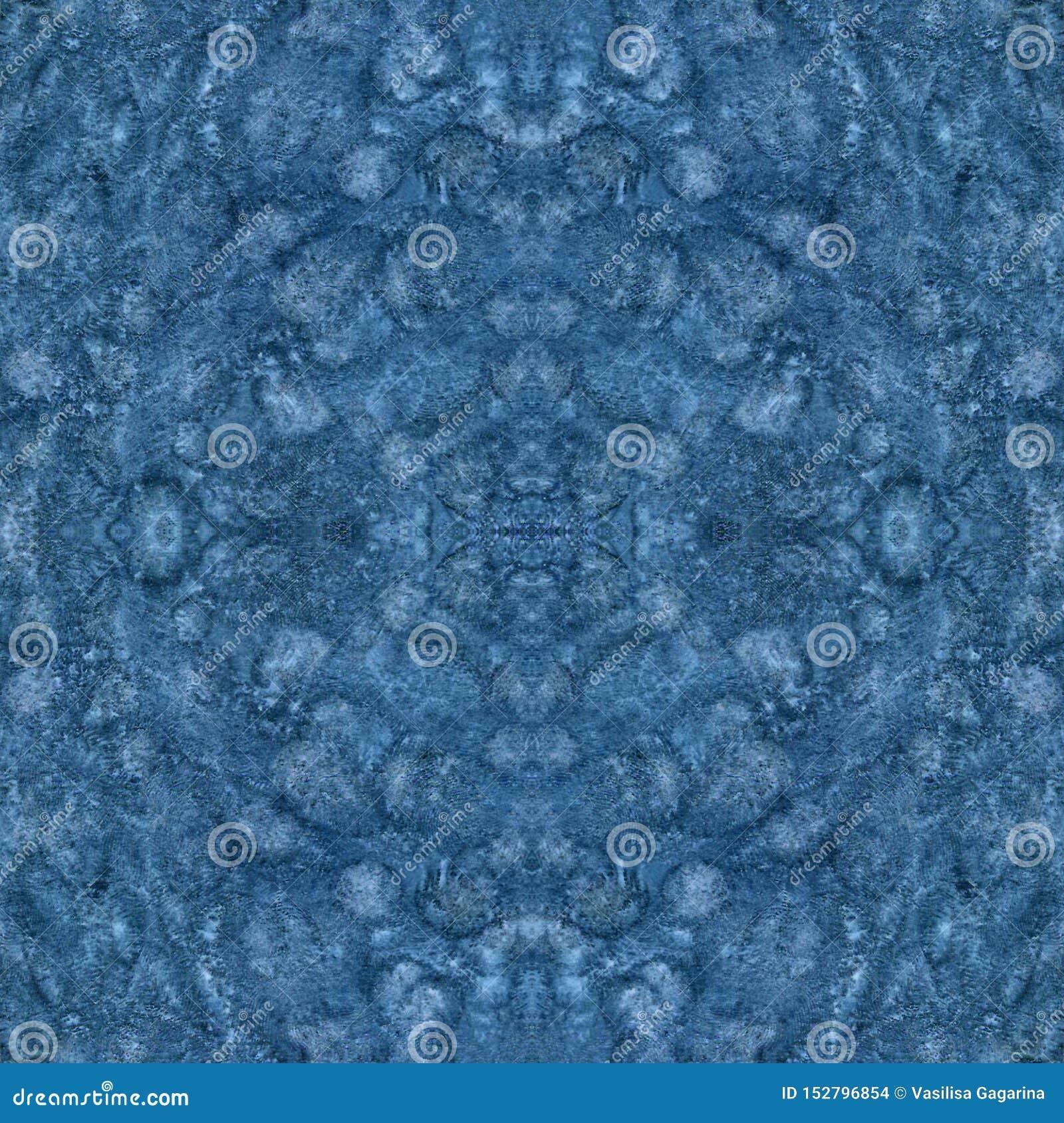 Stelle mit Papierbeschaffenheit Altes gelbes Papier auf dunklem Hintergrund Blaues Muster der nahtlosen Beschaffenheit