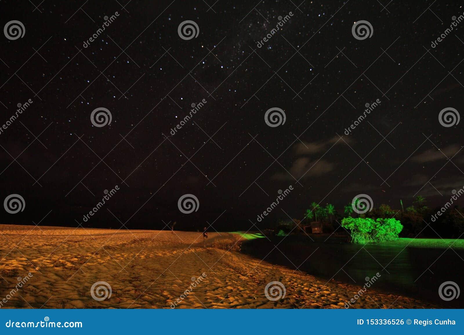 Stelle nel cielo notturno