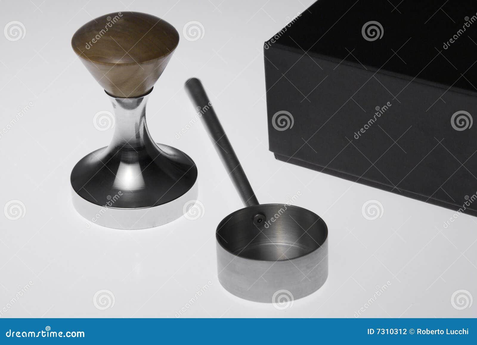 Stellen Sie für Kaffee ein