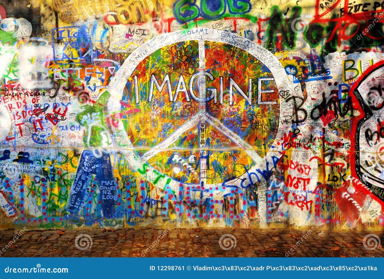 Stellen Sie sich Wand vor