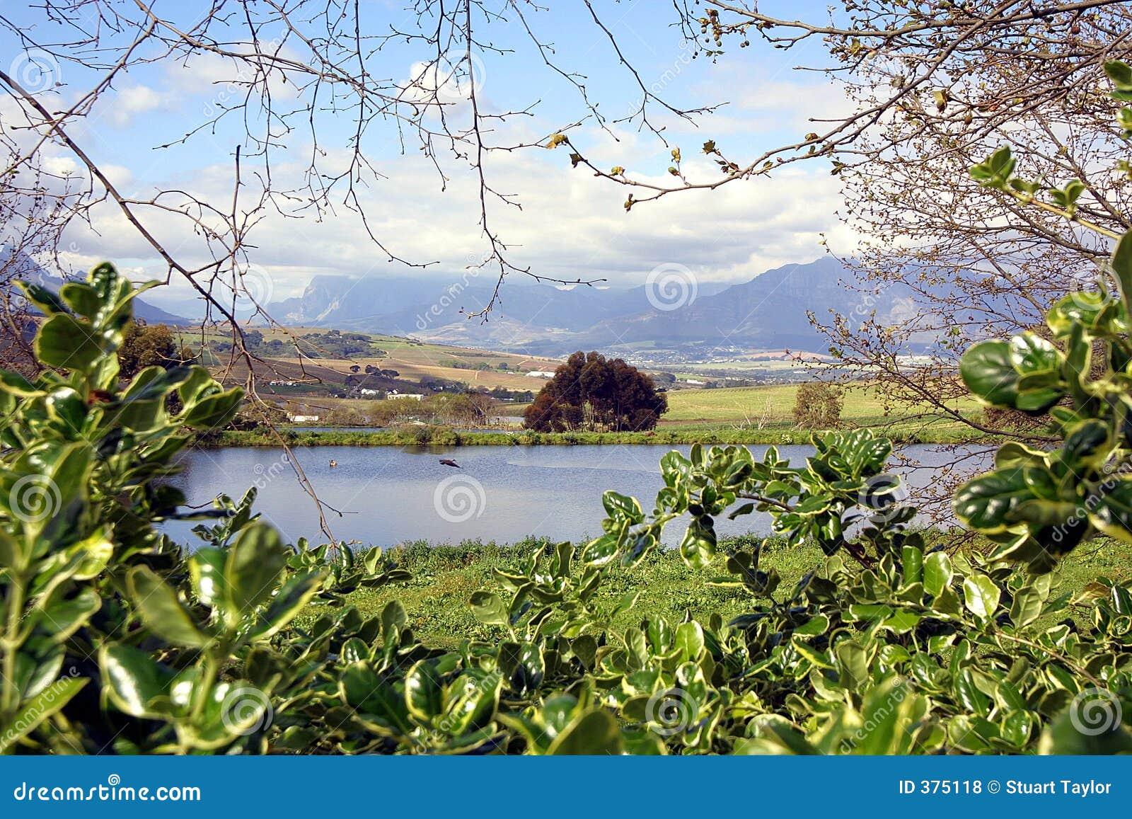 Stellenbosch-Ansicht