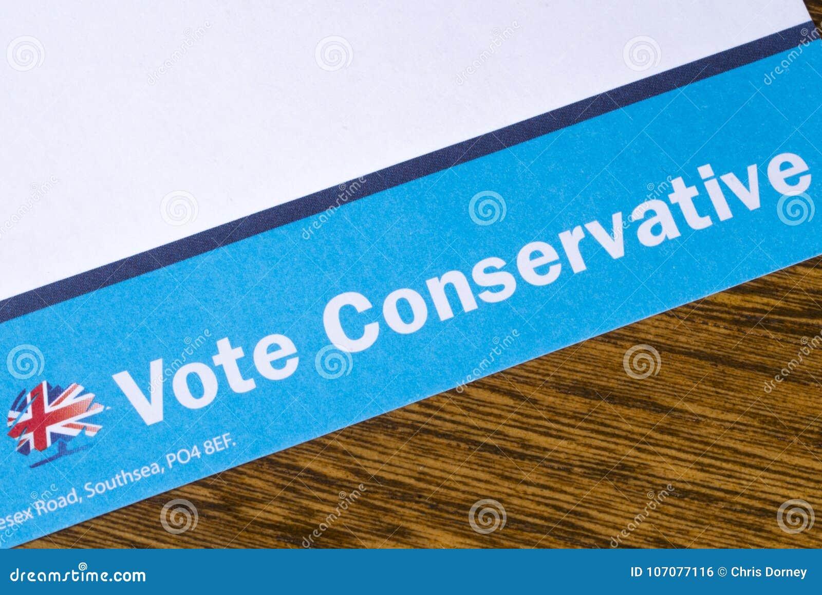 Stem Conservatief Pamflet