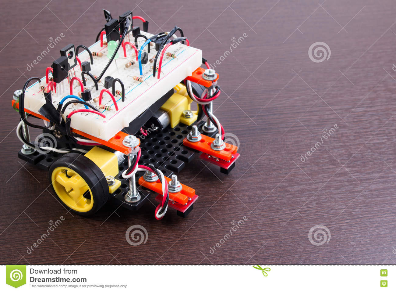 Stem Or Diy Electronic Kit Line Tracking Robot Competition Ideas Hobby Circuits Free Circuit Robotics Project