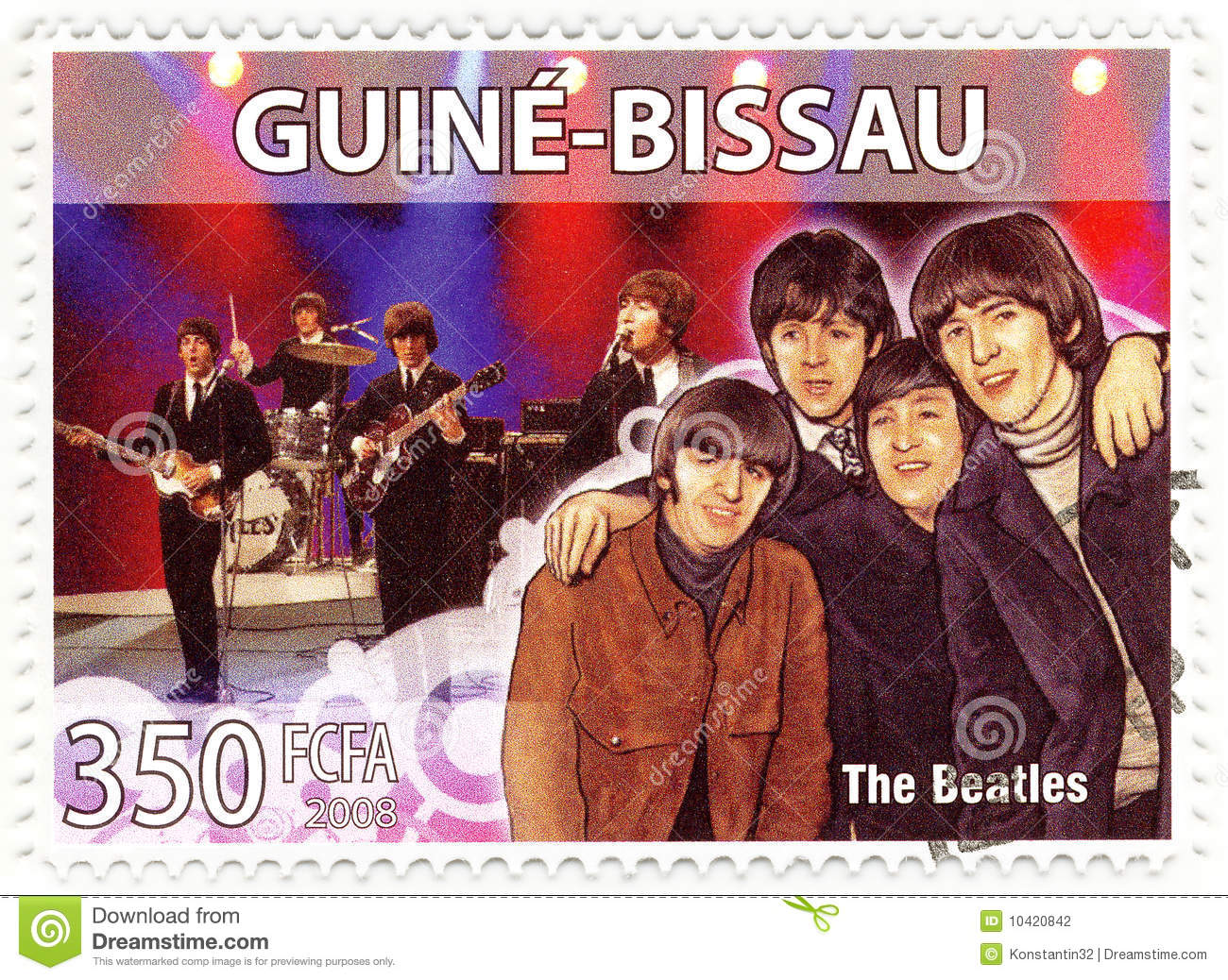 Stempel Beatles