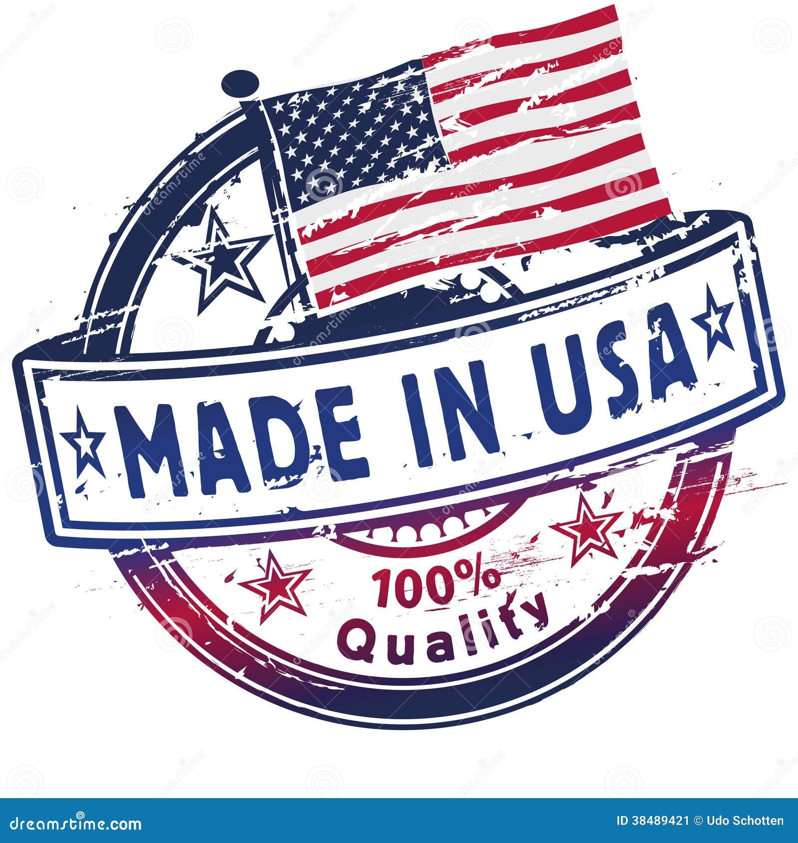 Stempel hergestellt in USA