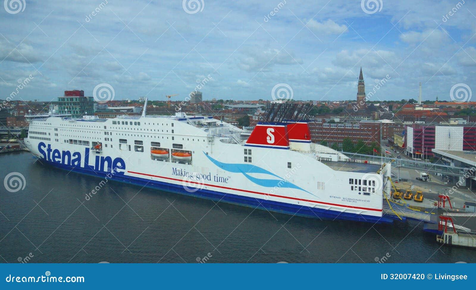 Stena Line - Ferry - Port Of Kiel - Germany Editorial Image - Image ...